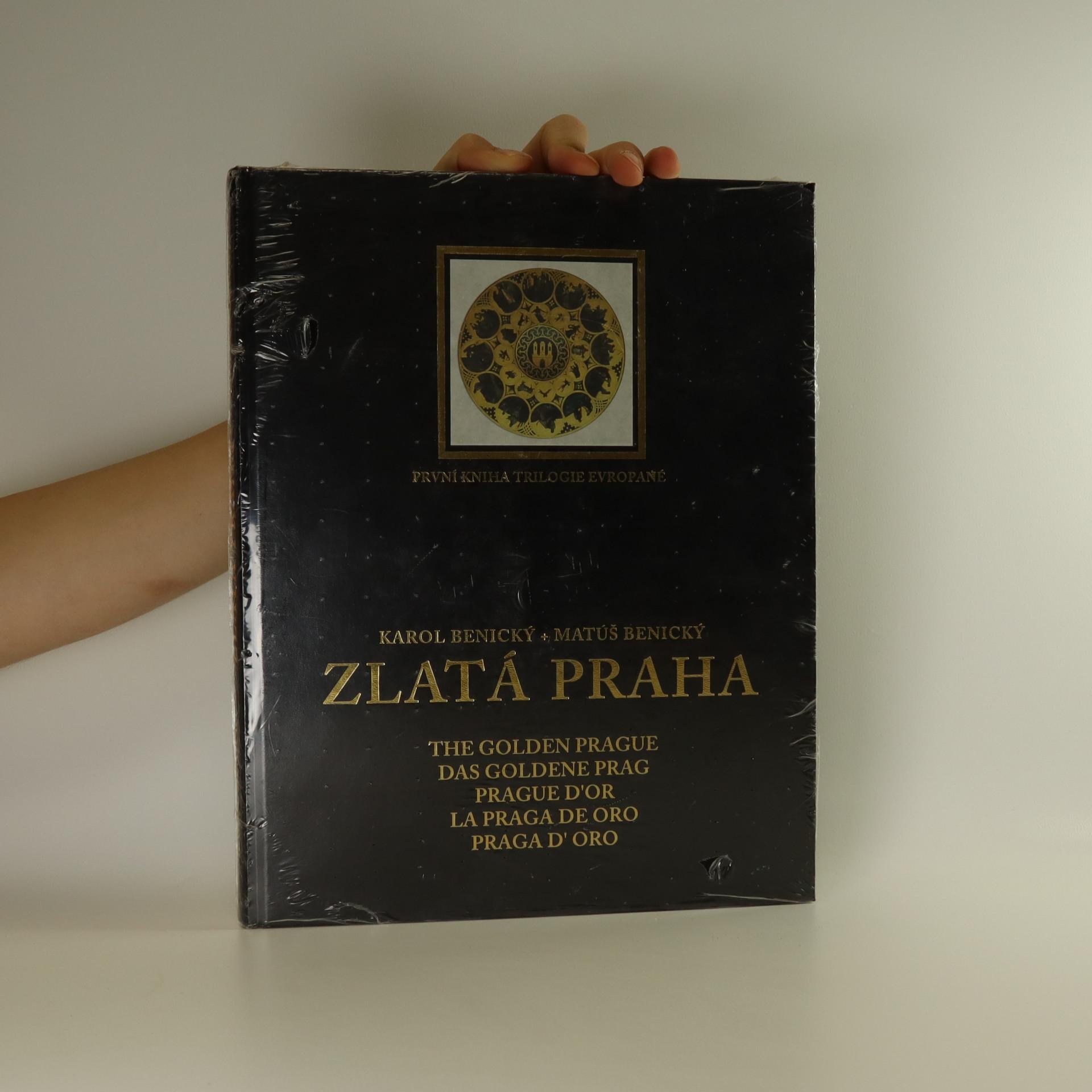 antikvární kniha Zlatá Praha, 2003