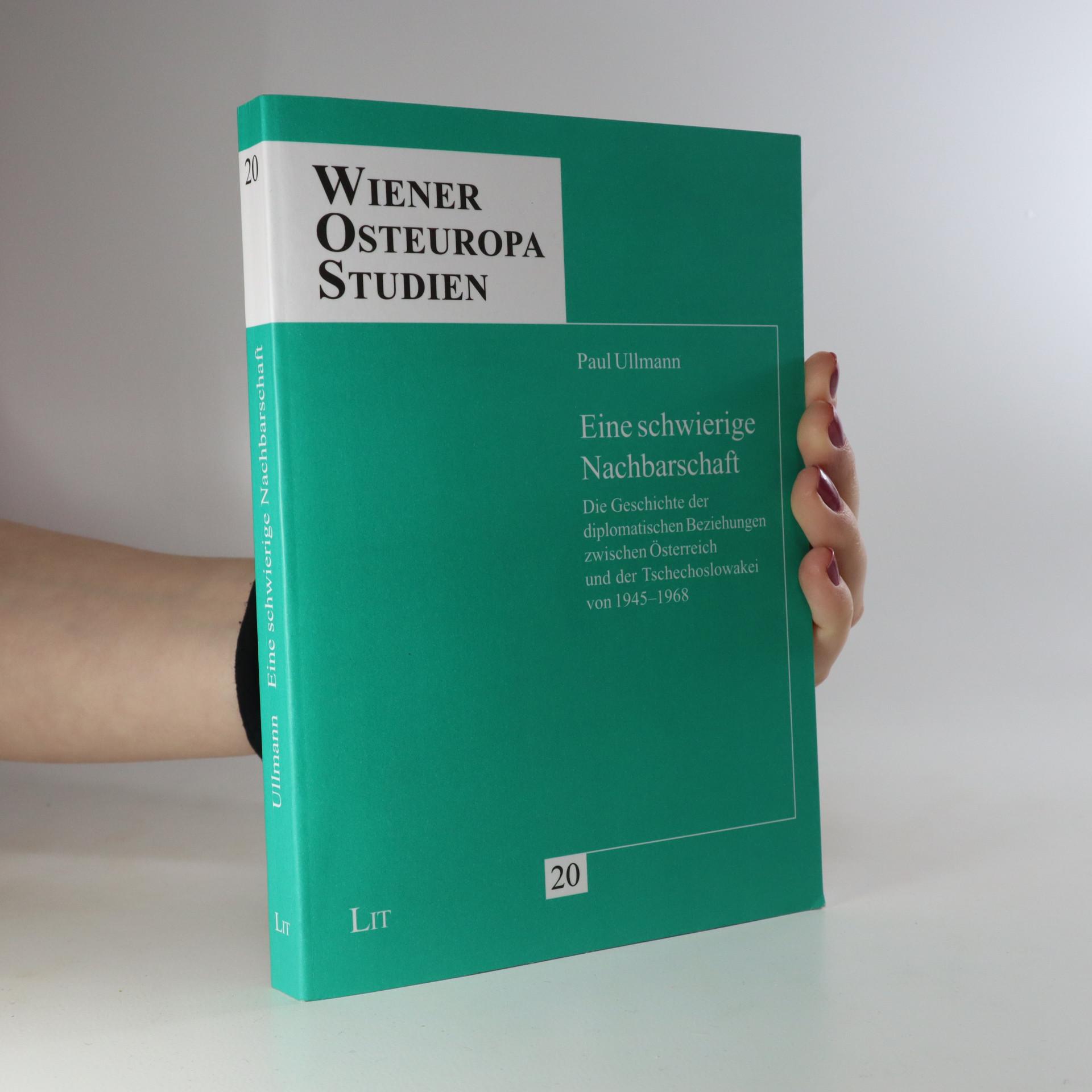antikvární kniha Eine schwierige Nachbarschaft, neuveden