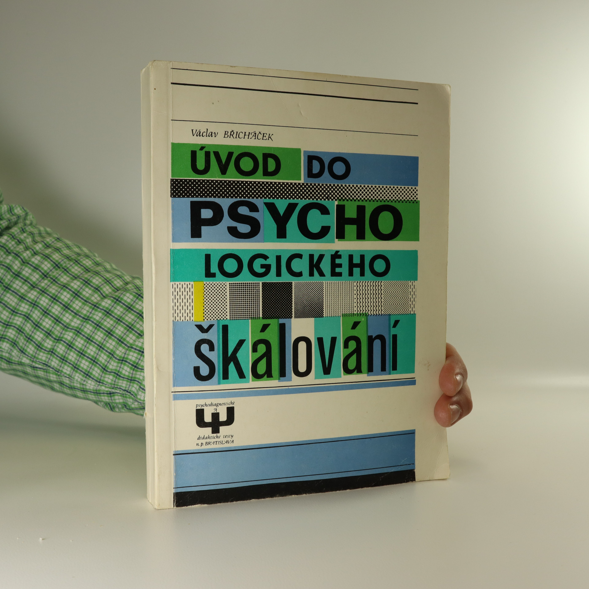 antikvární kniha Úvod do psychologického škálování, 1978