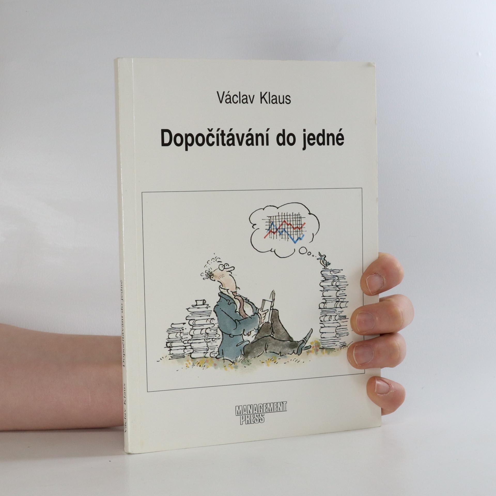 antikvární kniha Dopočítávání do jedné, 1995