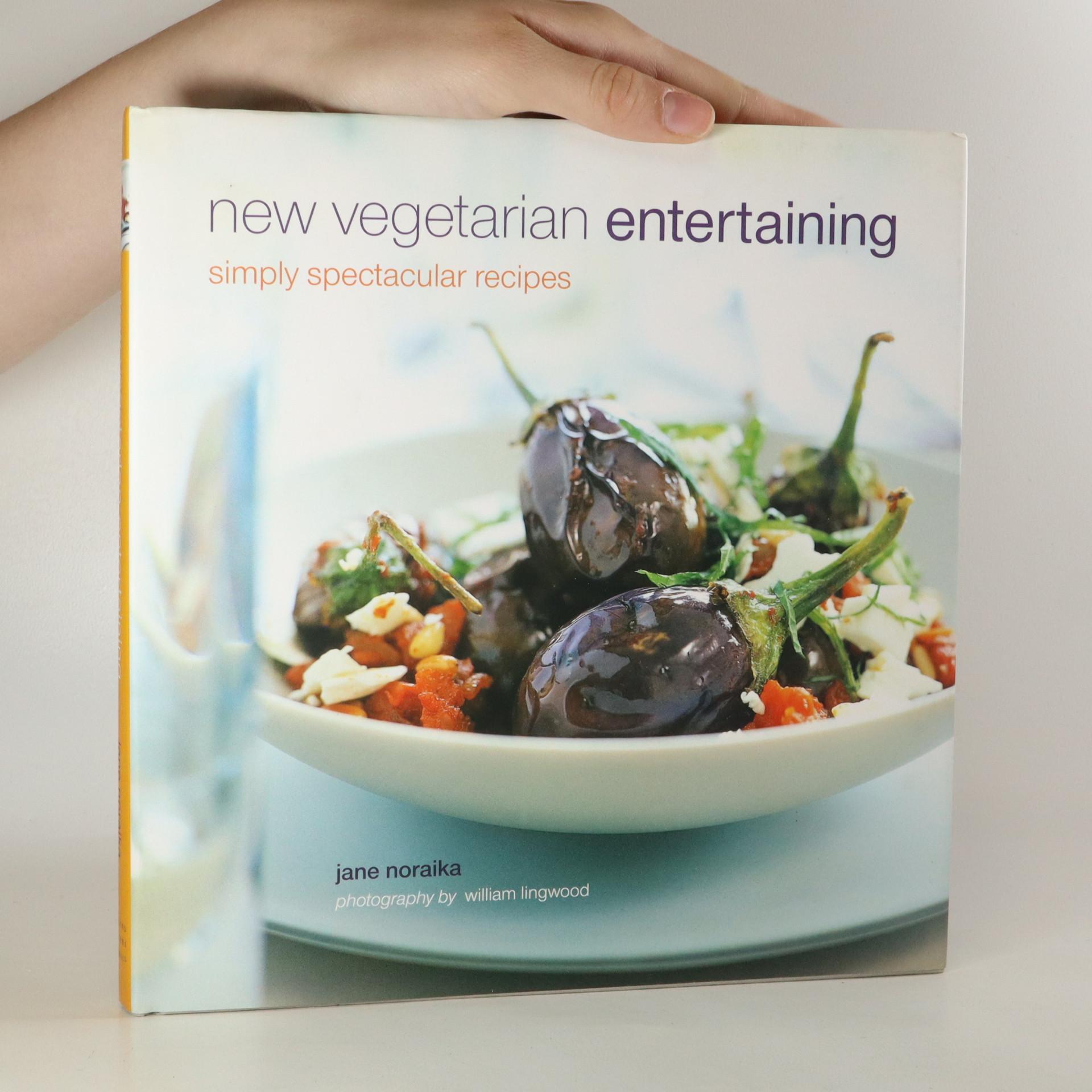 antikvární kniha New vegetarian entertaining. Simply spectacular recipes, 2003
