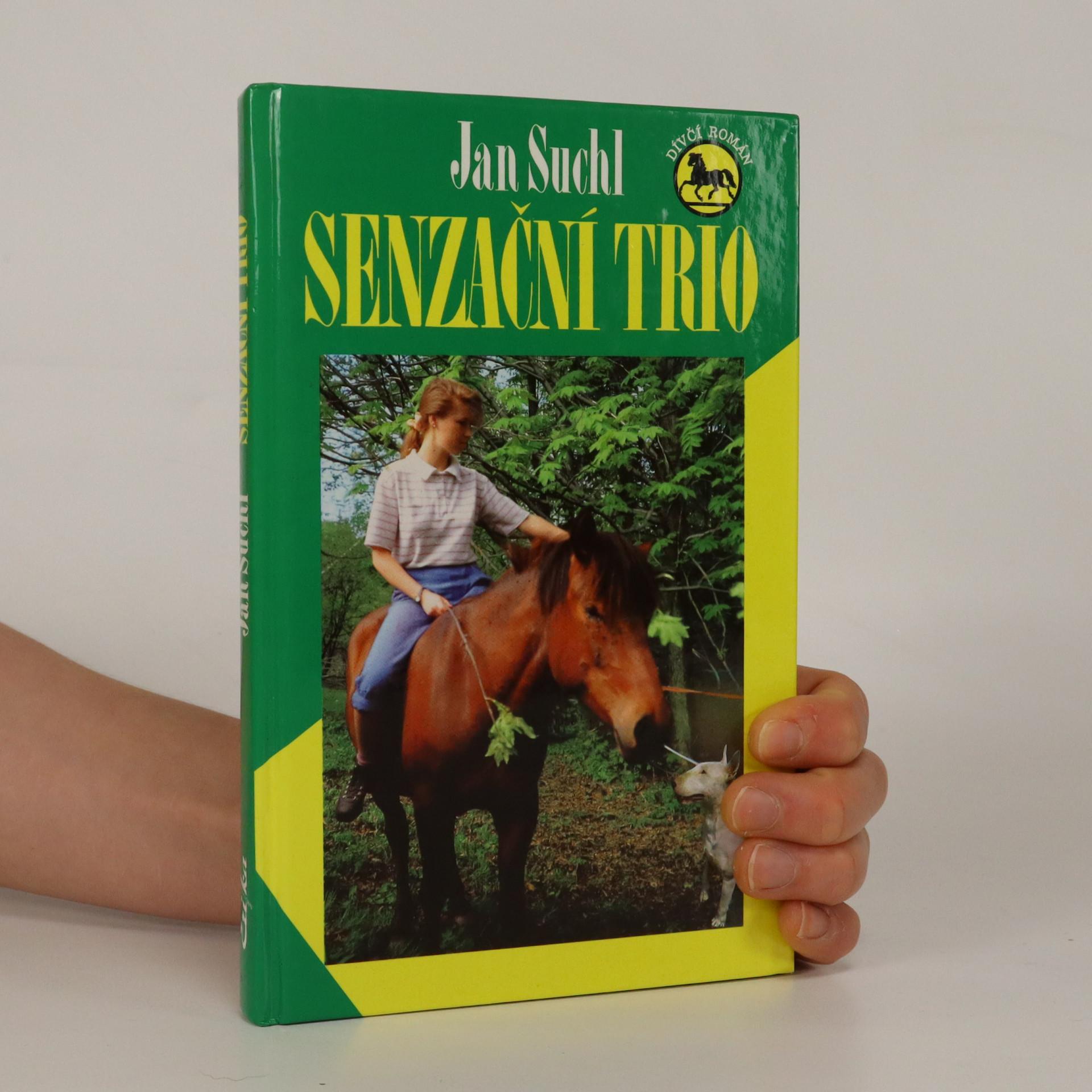 antikvární kniha Senzační trio, 2000