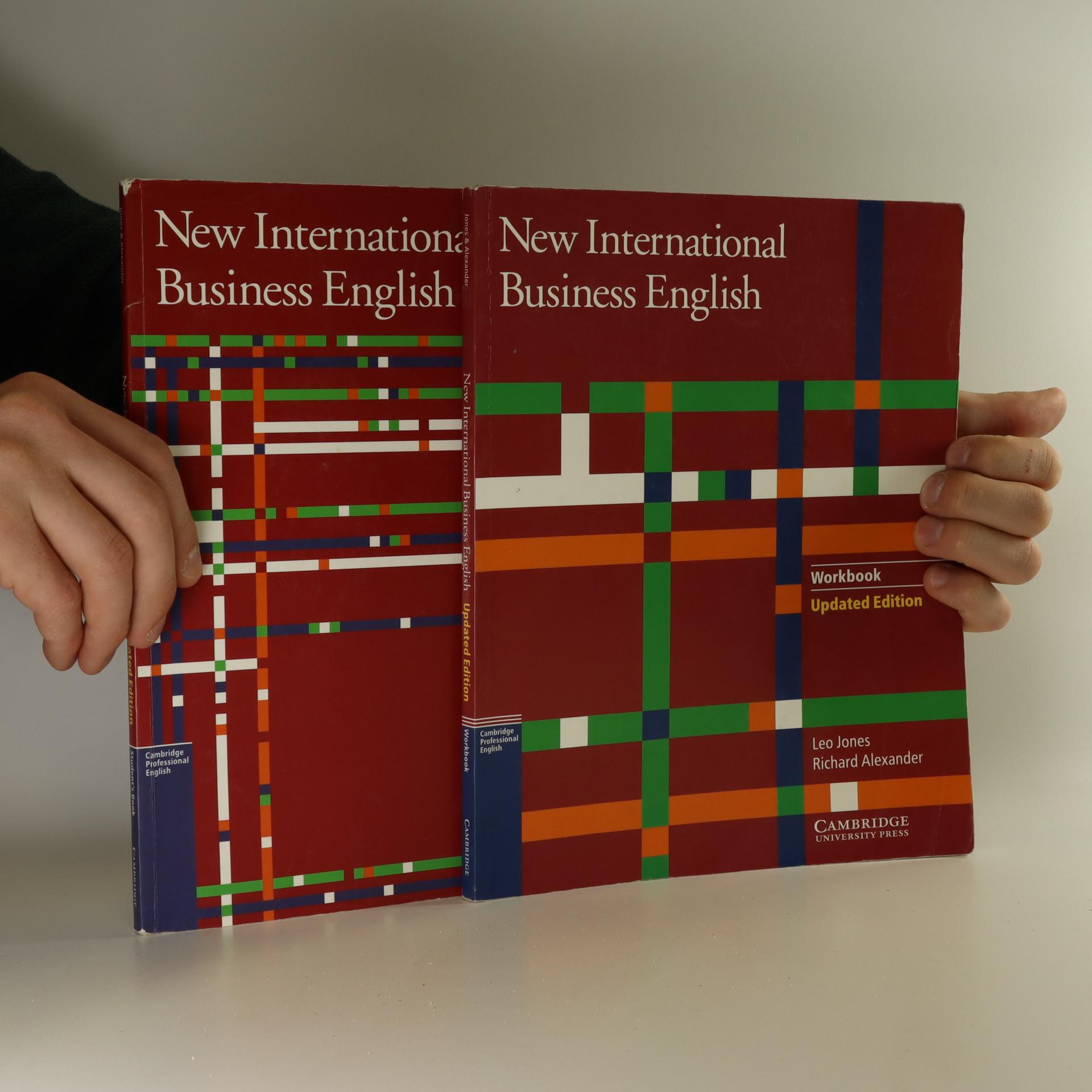 antikvární kniha New international business english, 2000