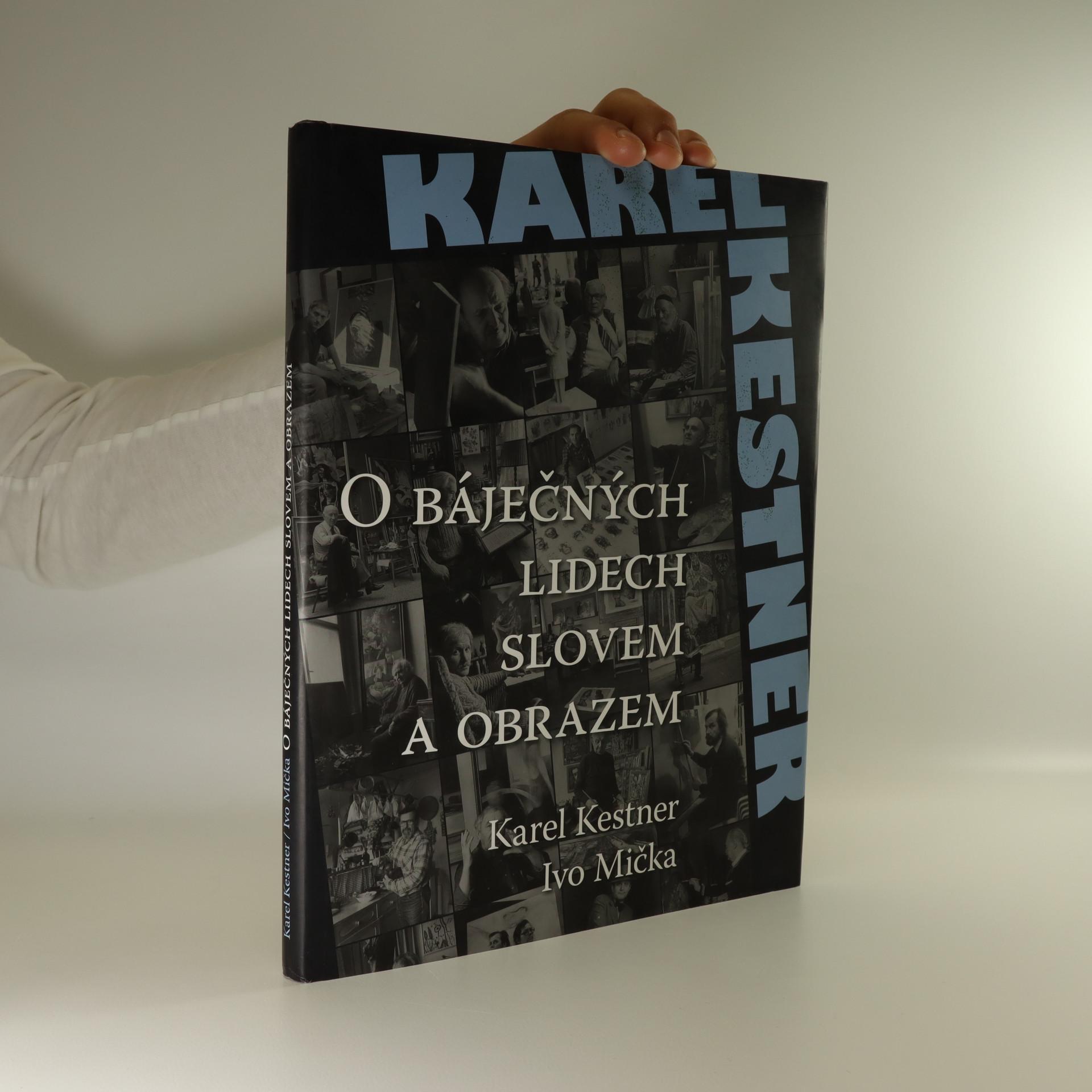antikvární kniha O báječných lidech slovem a obrazem, 2009