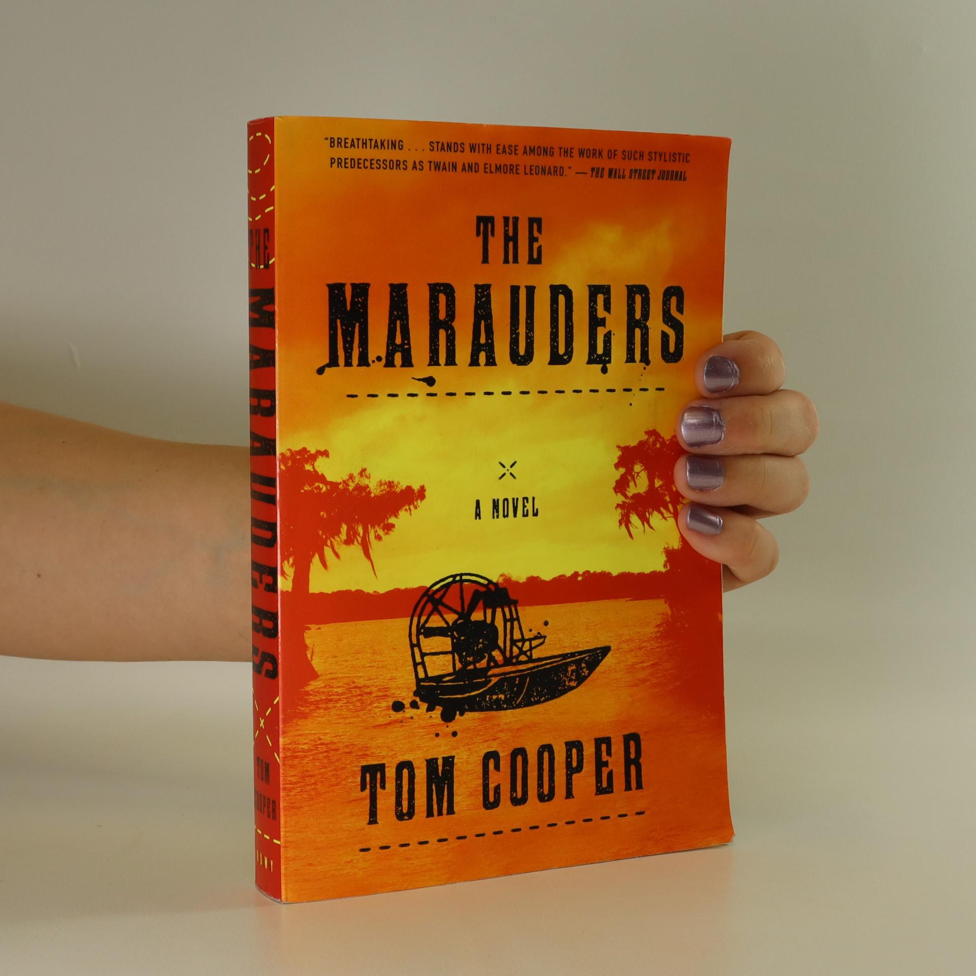 antikvární kniha The Marauders, neuveden