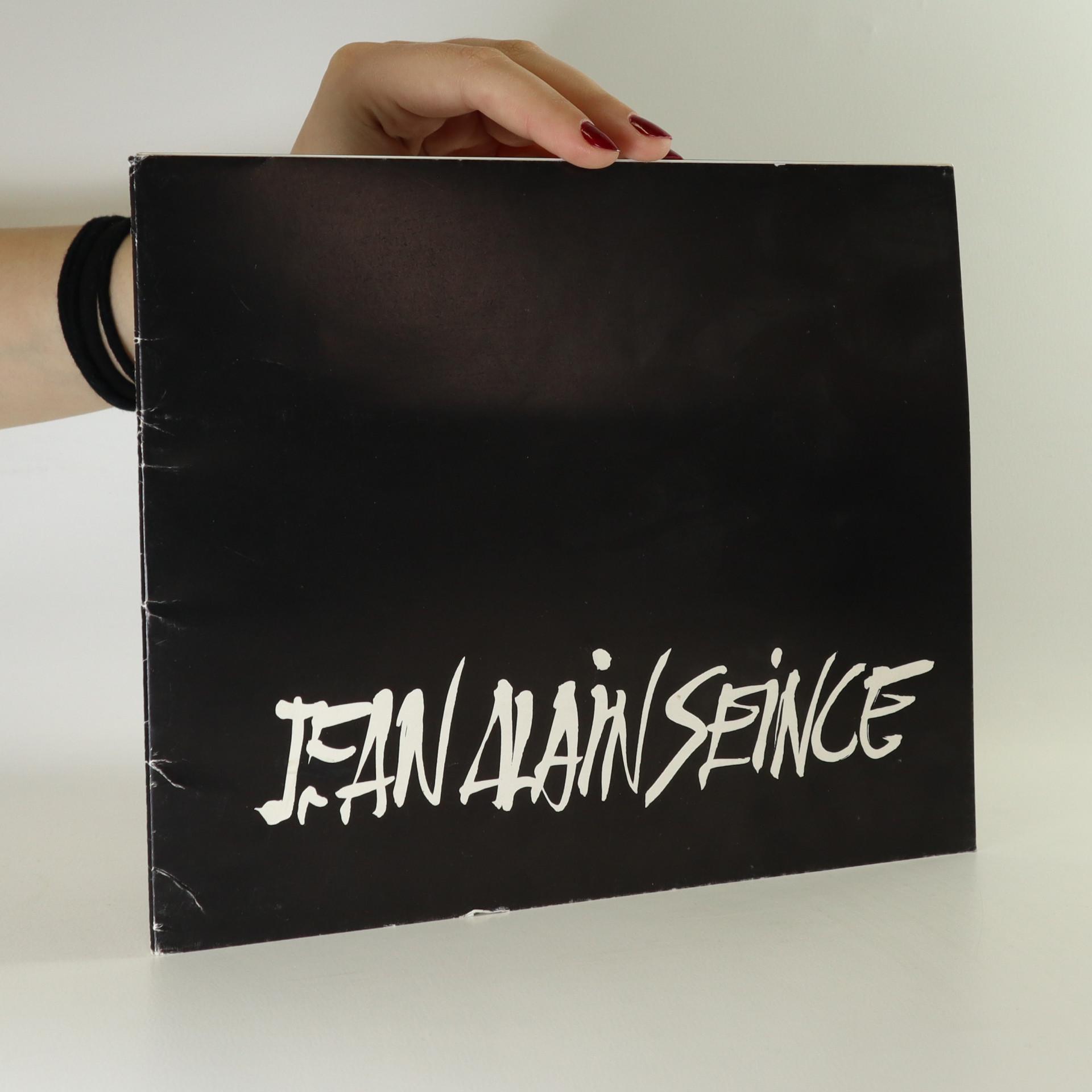 antikvární kniha Jean Alain Seince, 1978