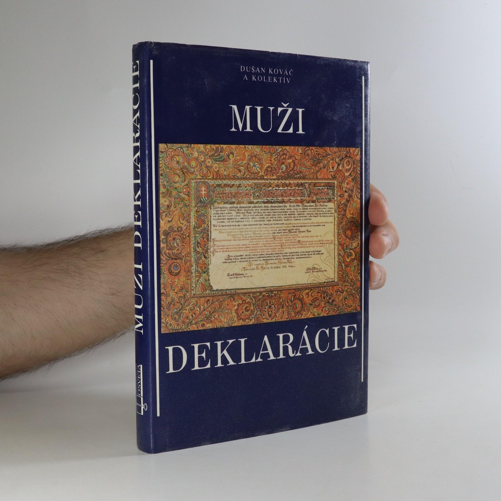 antikvární kniha Muži Deklarácie, 1991