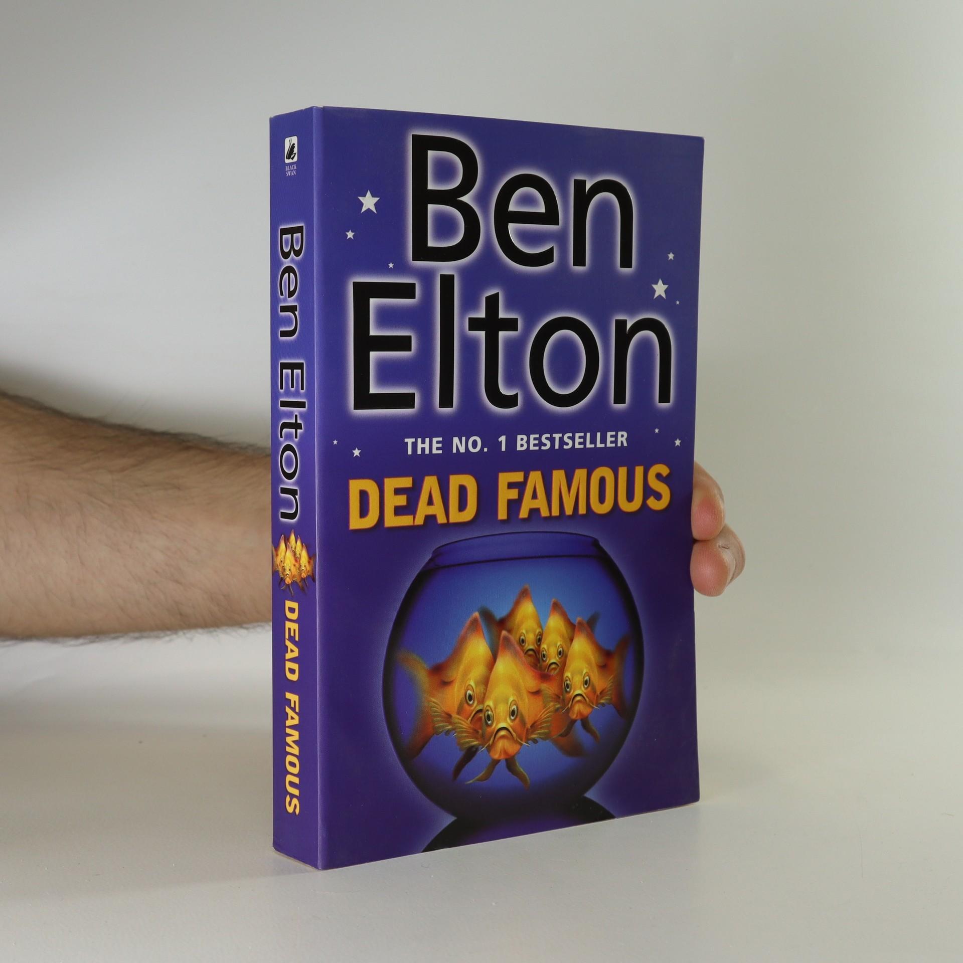 antikvární kniha Dead famous, 2002