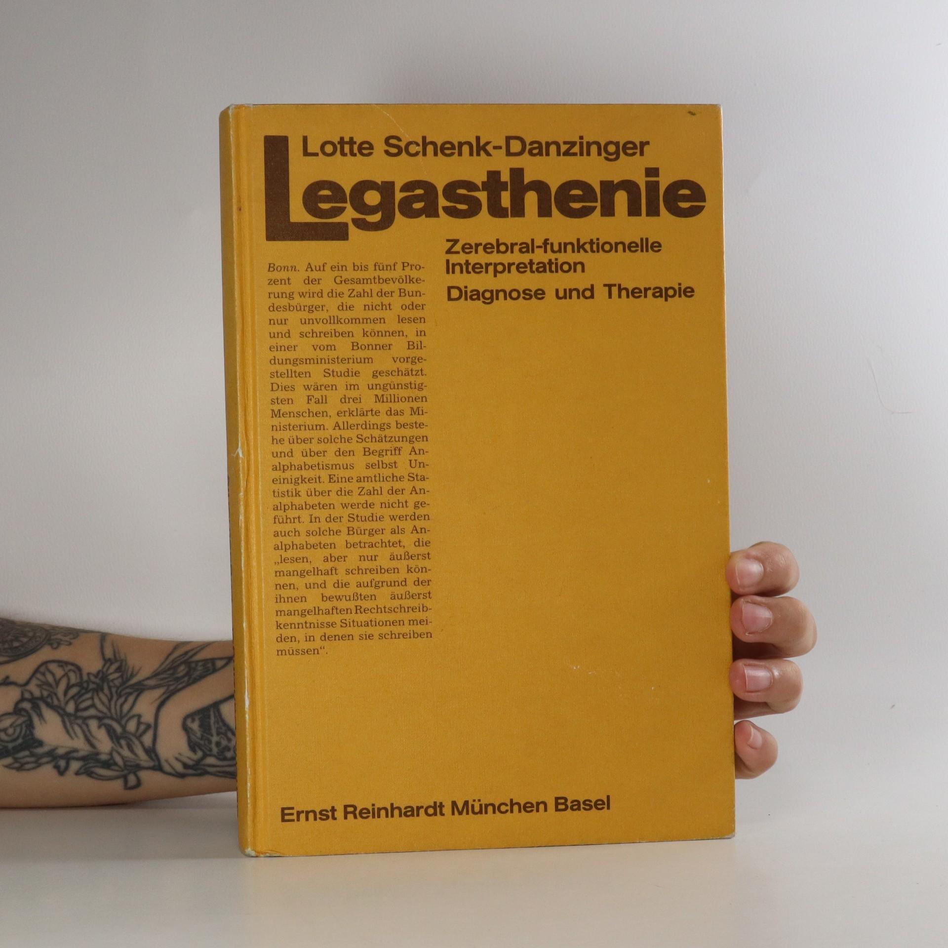 antikvární kniha Legasthenie. Zerebral-funktionelle Interpretation, 1991