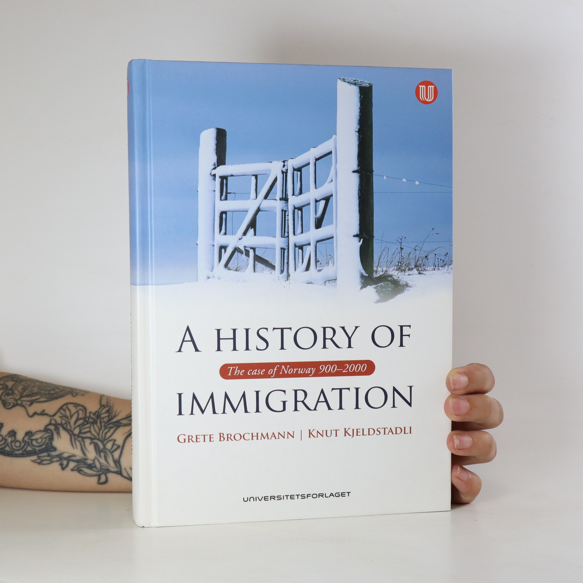 antikvární kniha A history of immigration. The case of Norway 900-2000, 2008