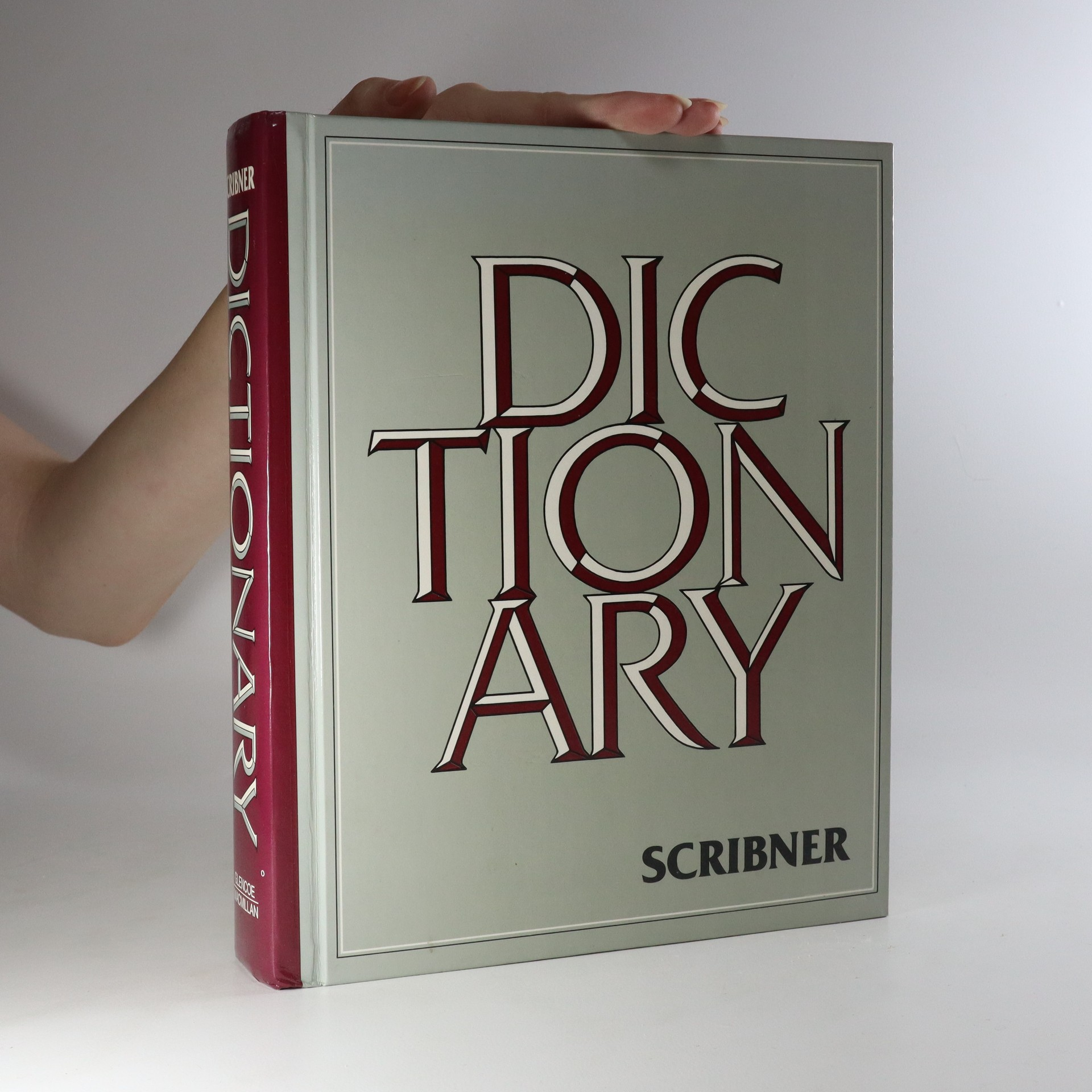 antikvární kniha Scribner dictionary, 1986