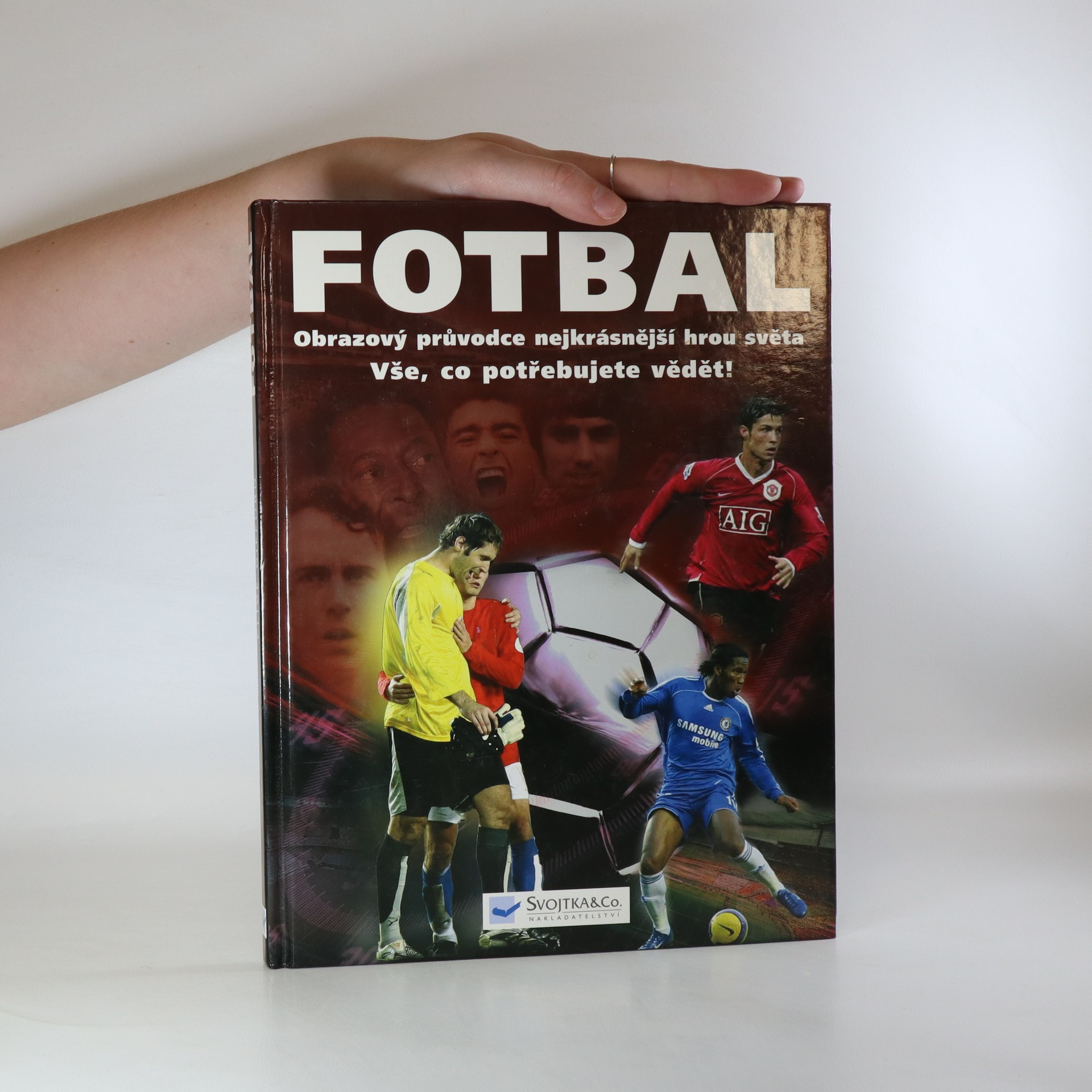 antikvární kniha Fotbal. Obrazový průvodce nejkrásnější hrou, 2002