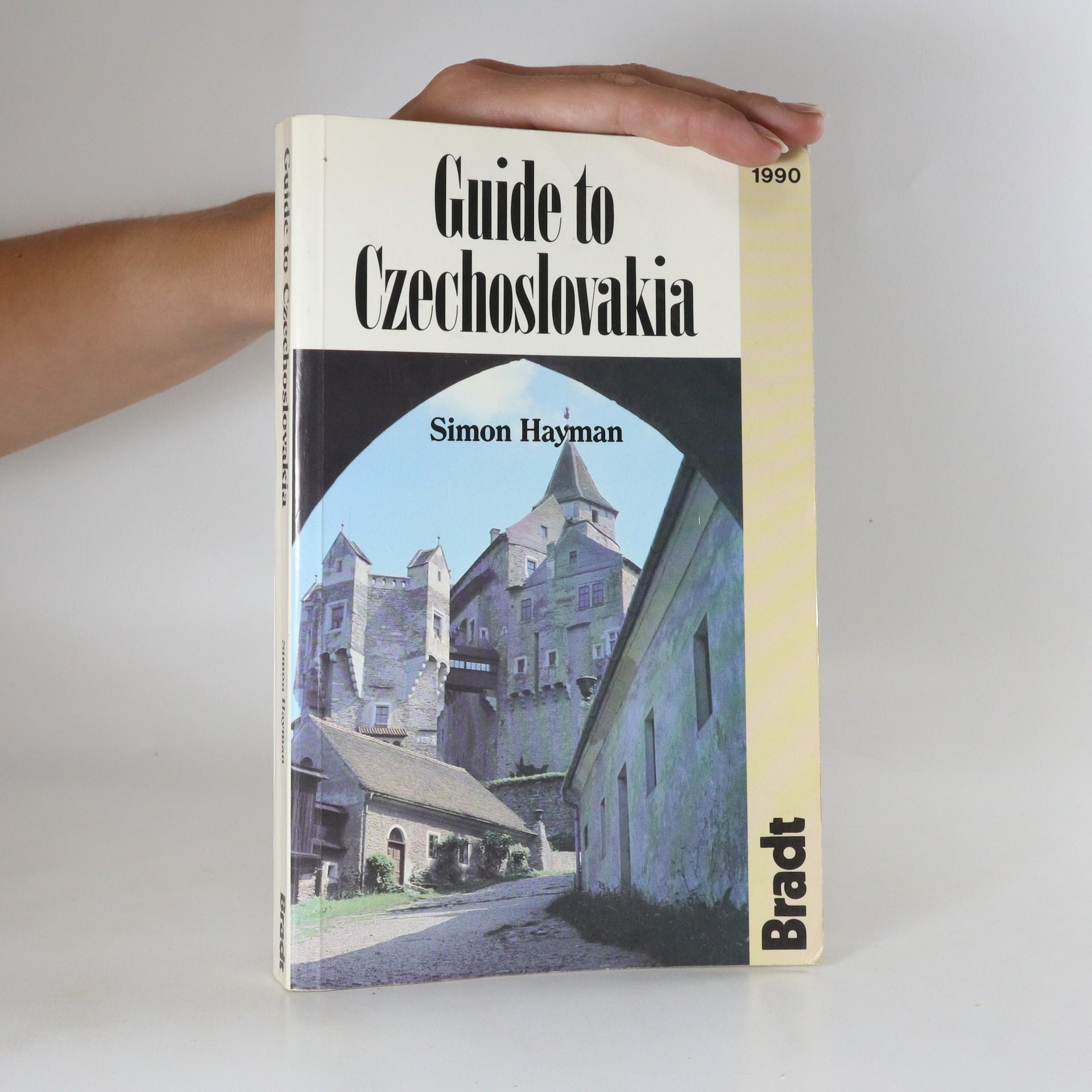 antikvární kniha Guide to Czechoslovakia, 1990