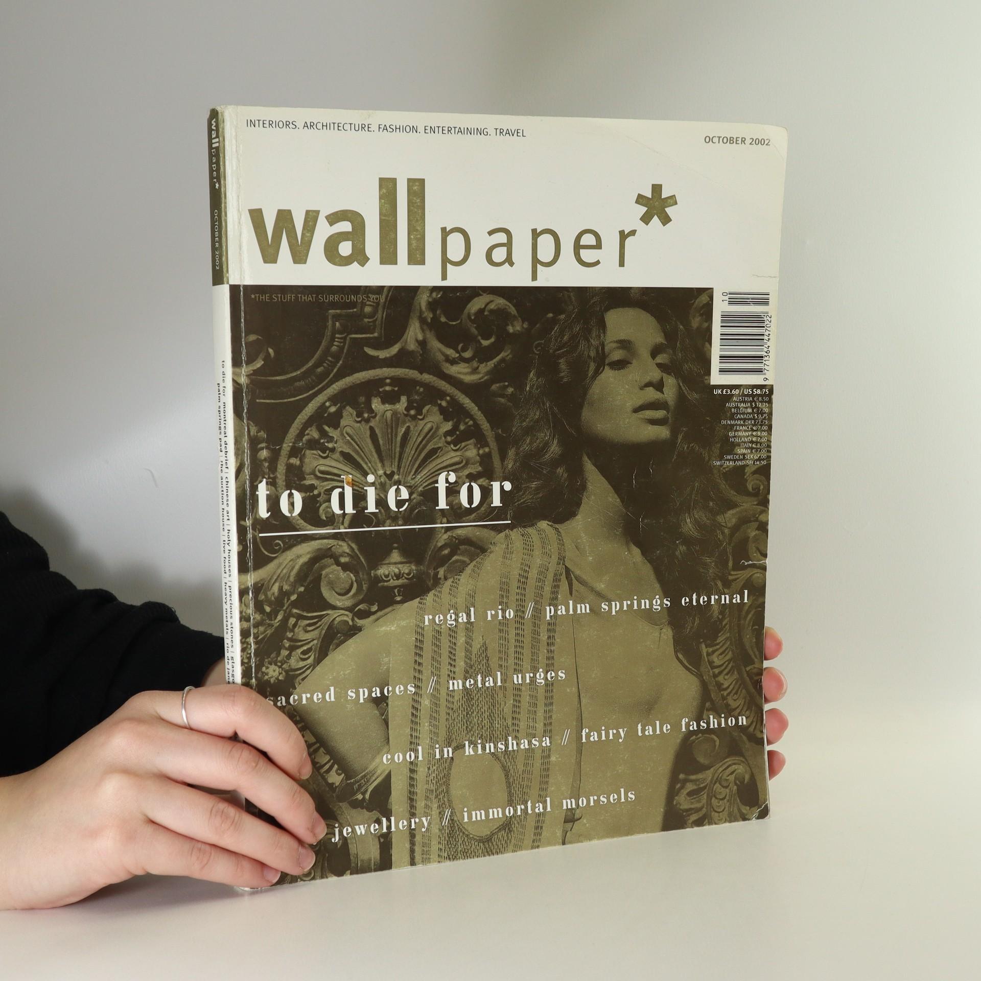 antikvární kniha Wallpaper* October 2002, 2002