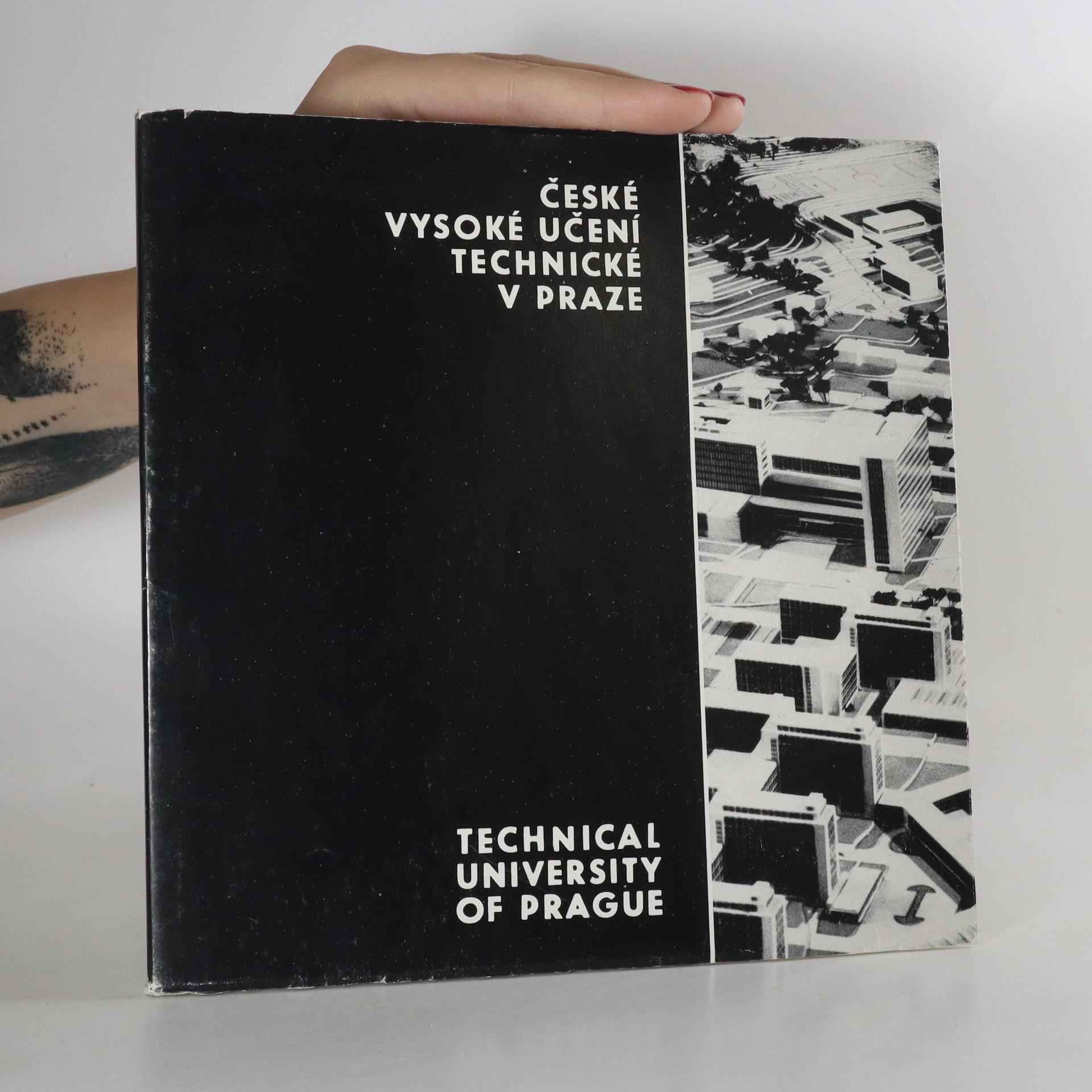 antikvární kniha České vysoké učení technické v Praze.  Technical university in Prague, 1975