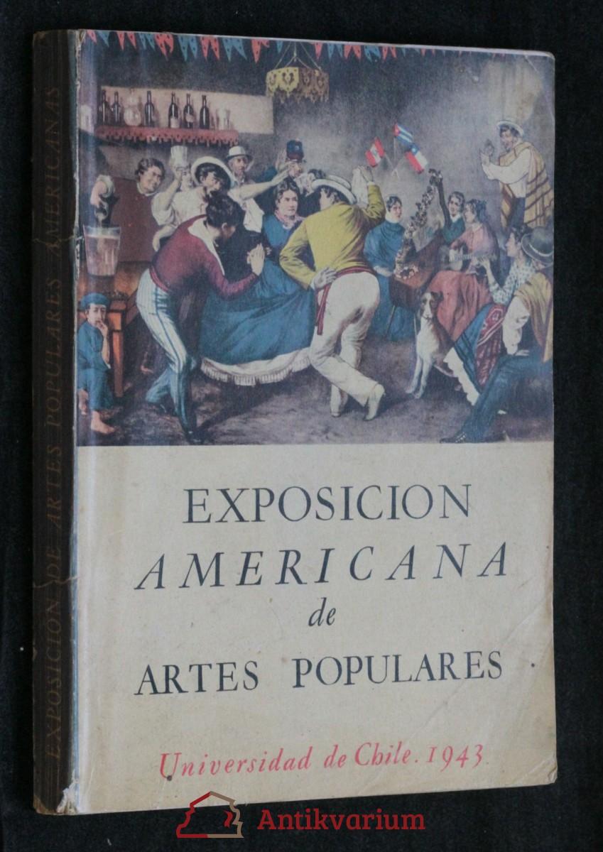 antikvární kniha Exposicion Americana de Artes Populares , 1943