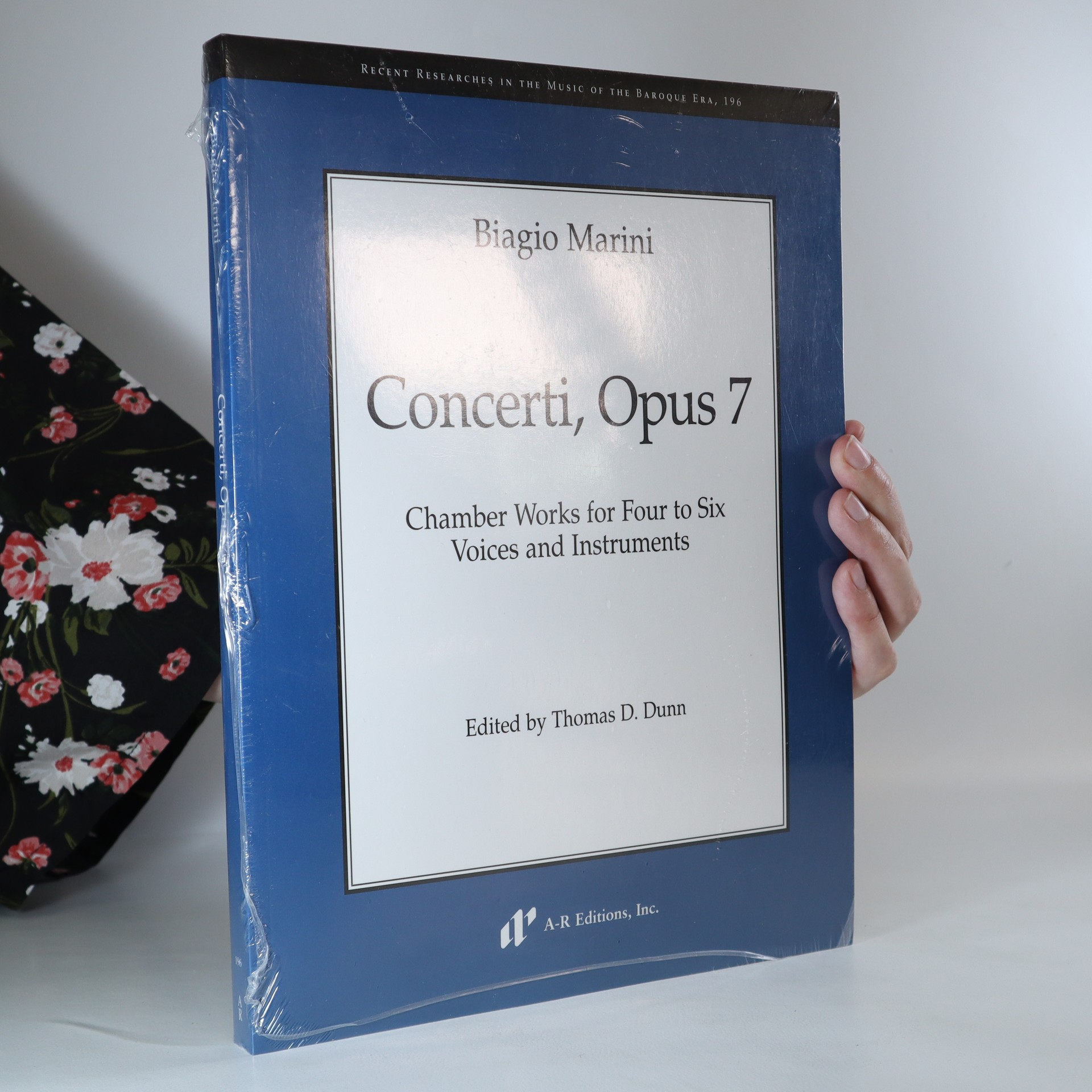 antikvární kniha Concerti, opus 7. Chamber works for four to six voices and instruments, neuveden