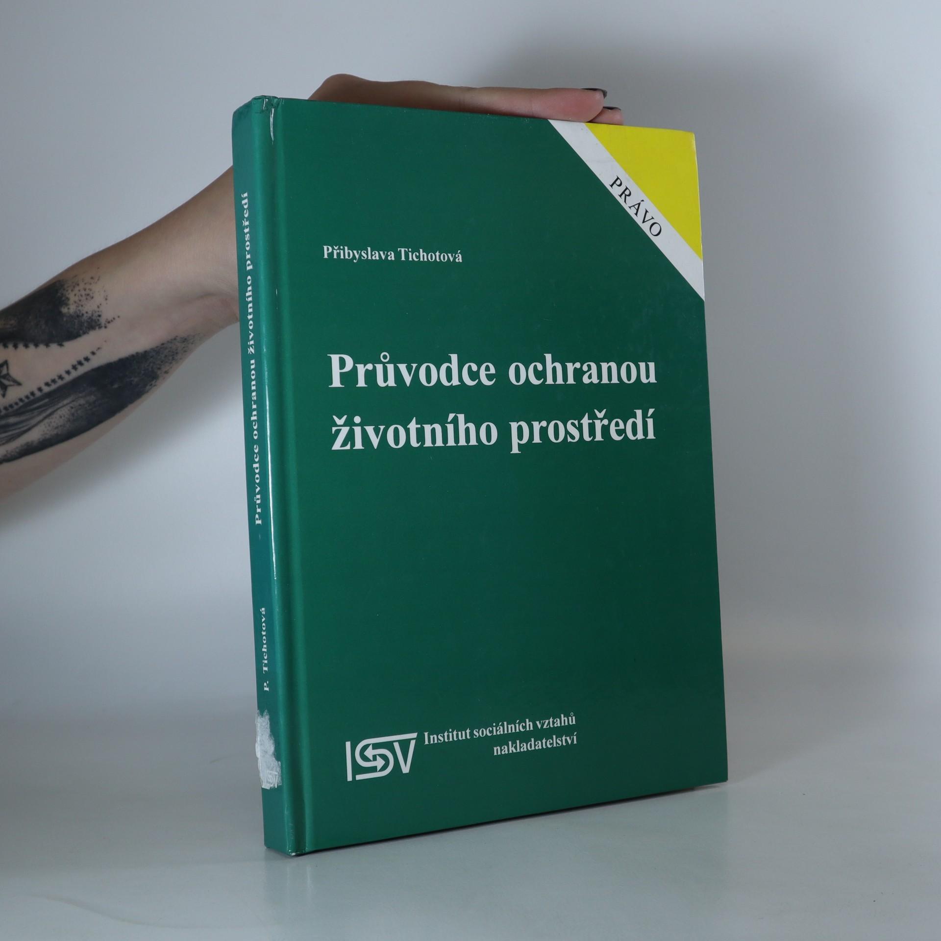 antikvární kniha Průvodce ochranou životního prostředí, 1998