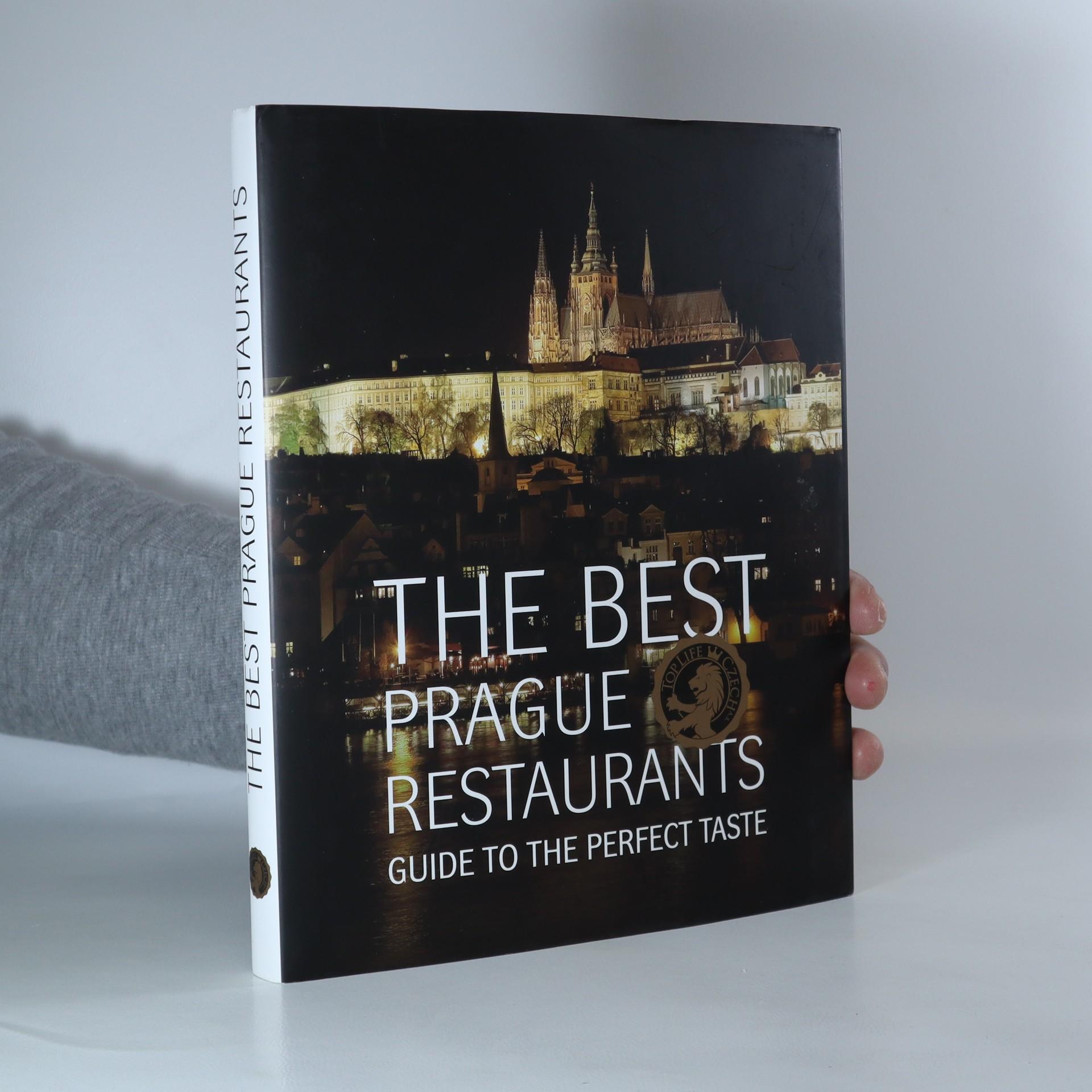 antikvární kniha The best Prague restaurants. Guide to the perfect taste, 2015