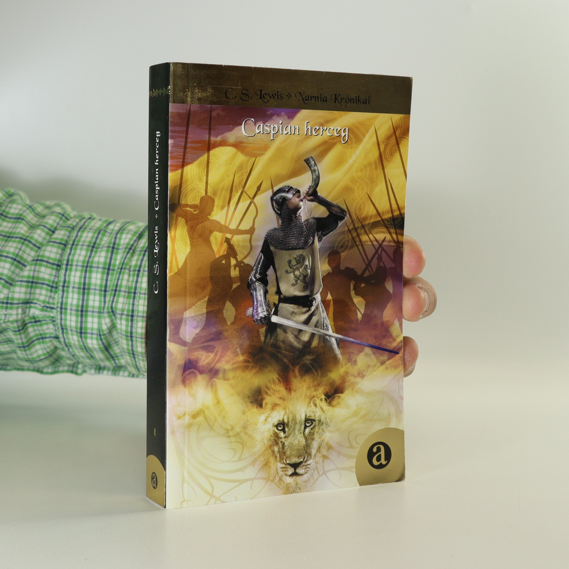 antikvární kniha Caspian herceg, neuveden