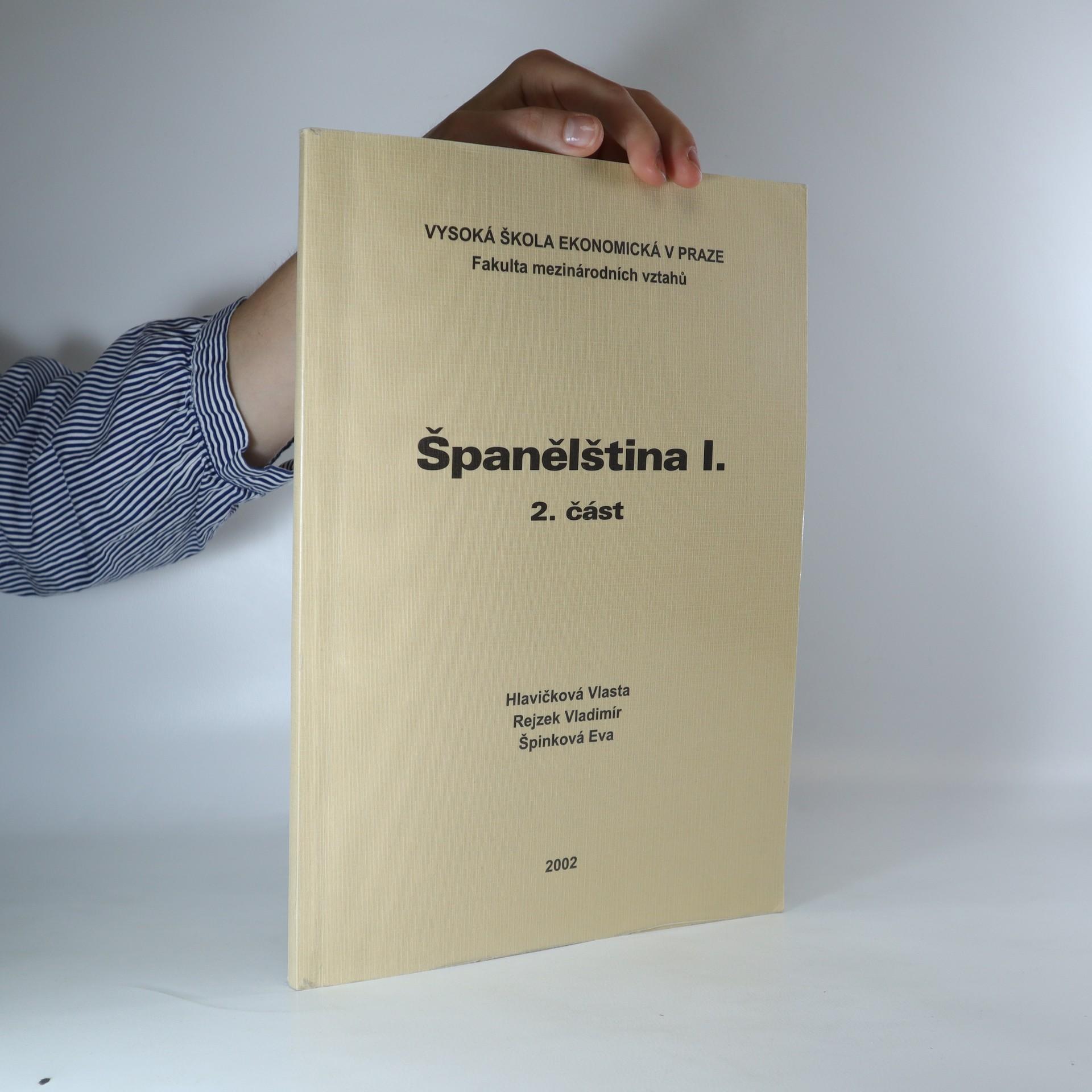 antikvární kniha Španělština I. 2. část., 2002