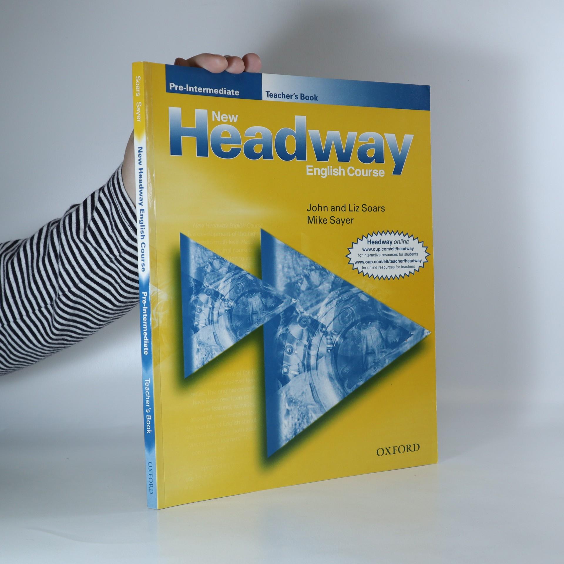antikvární kniha New Headway English Course. Pre-Intermediate. Teacher's Book., 2004