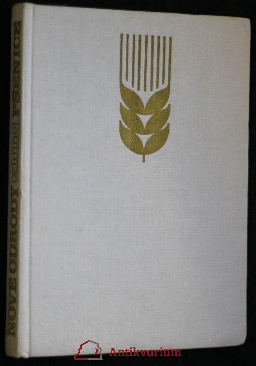 antikvární kniha Nové odrody ozimnej pšenice, 1976