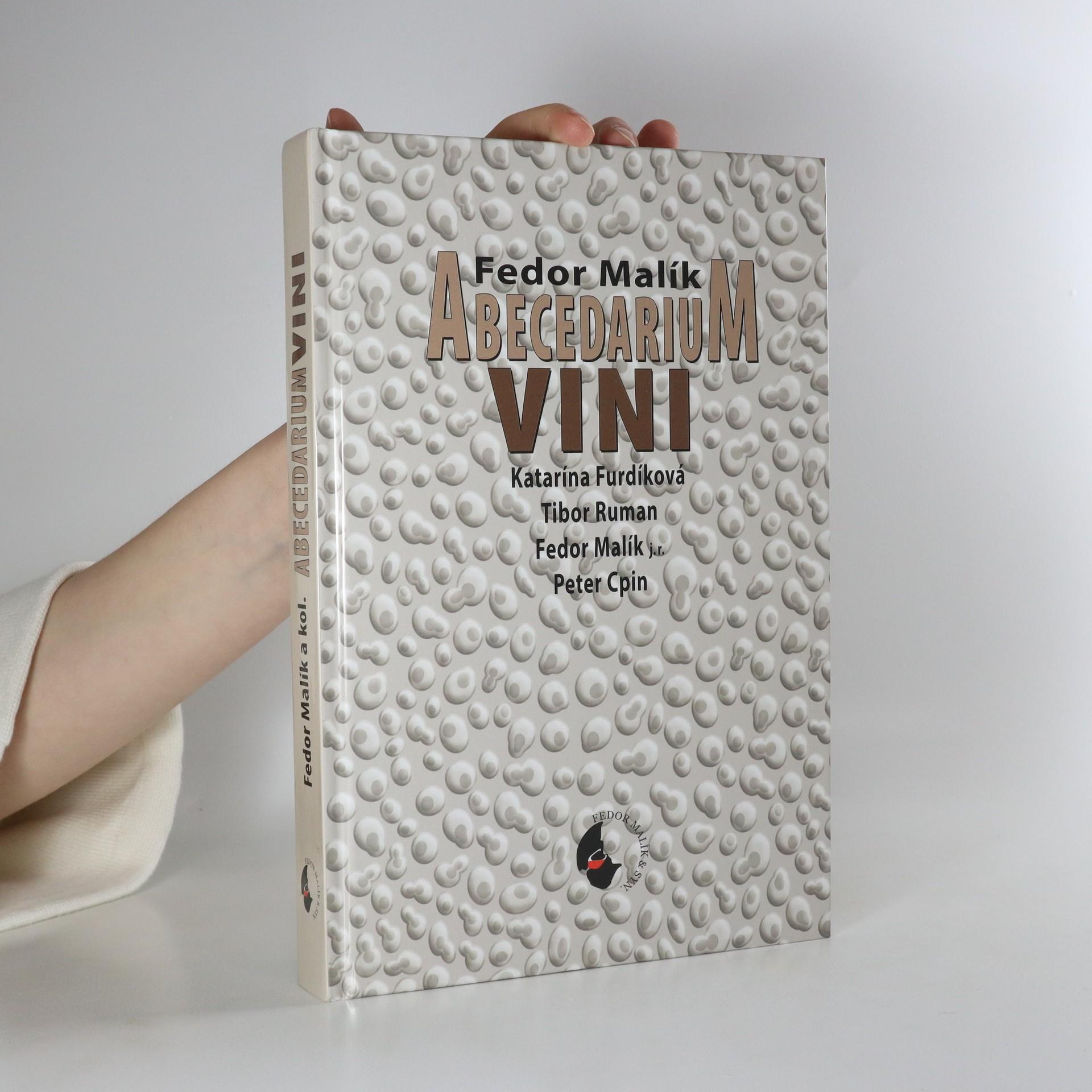antikvární kniha Abecedarium vini (slovensky), neuveden