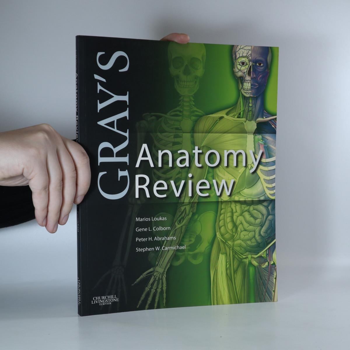 antikvární kniha Gray's Anatomy Review, 2010