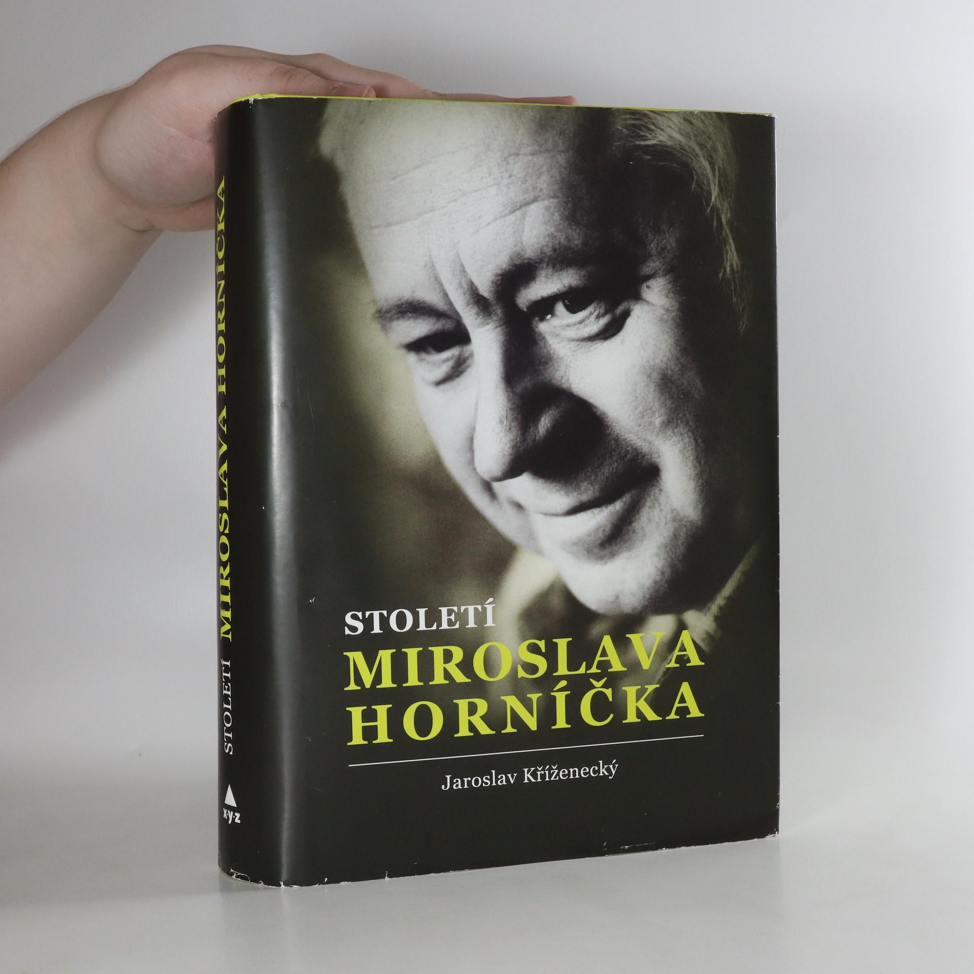 antikvární kniha Století Miroslava Horníčka , 2018