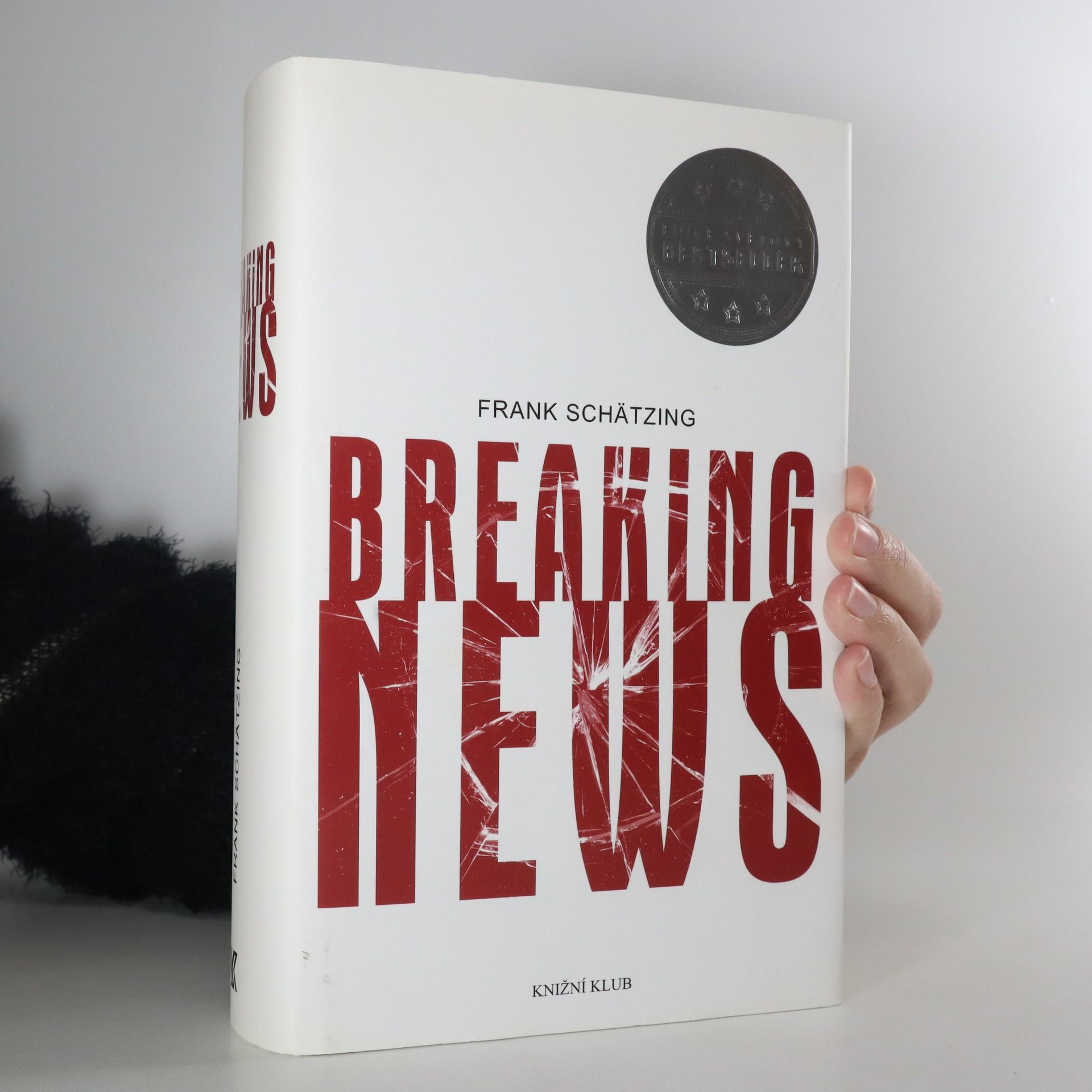 antikvární kniha Breaking news (česky), 2015