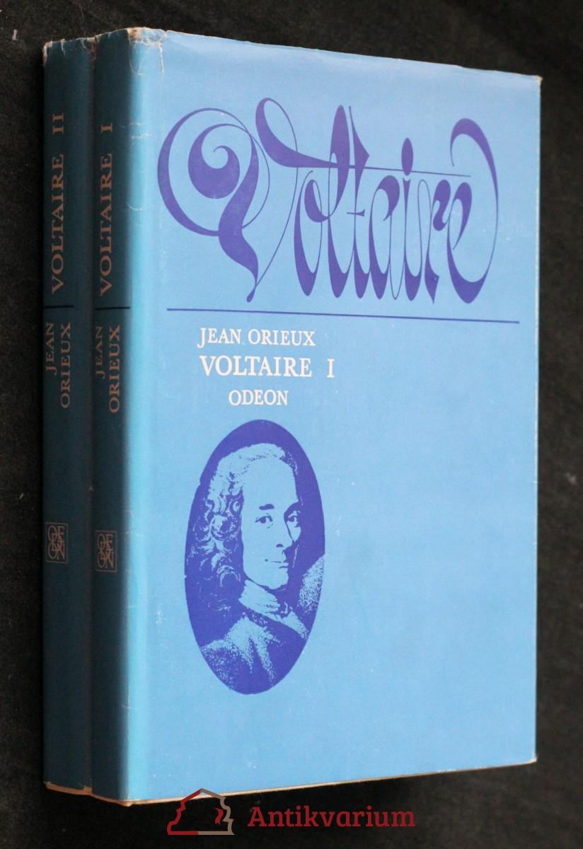 antikvární kniha Voltaire, neboli, Vláda ducha, 1.-2. díl , 1979