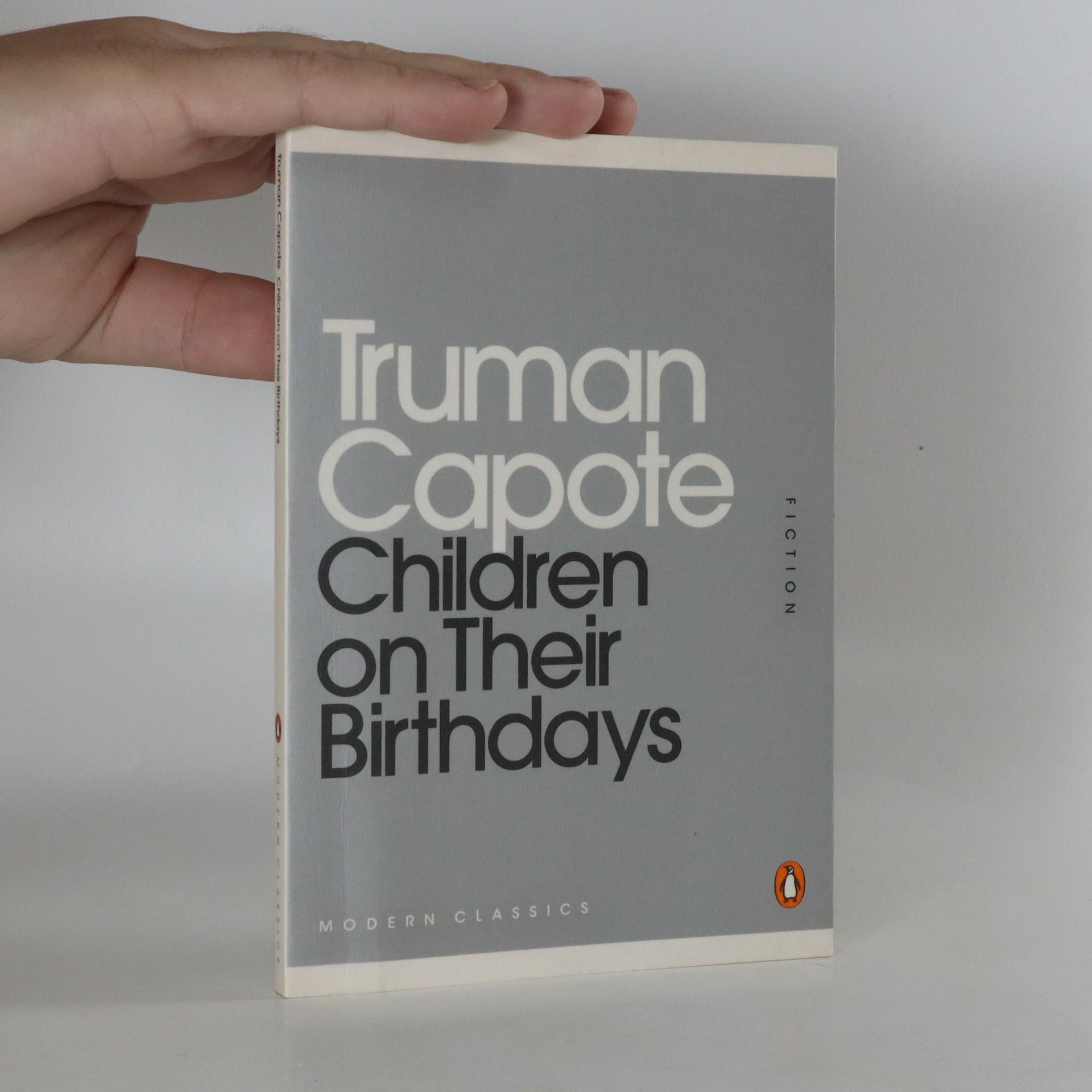 antikvární kniha Children on Their Birthdays, 2011
