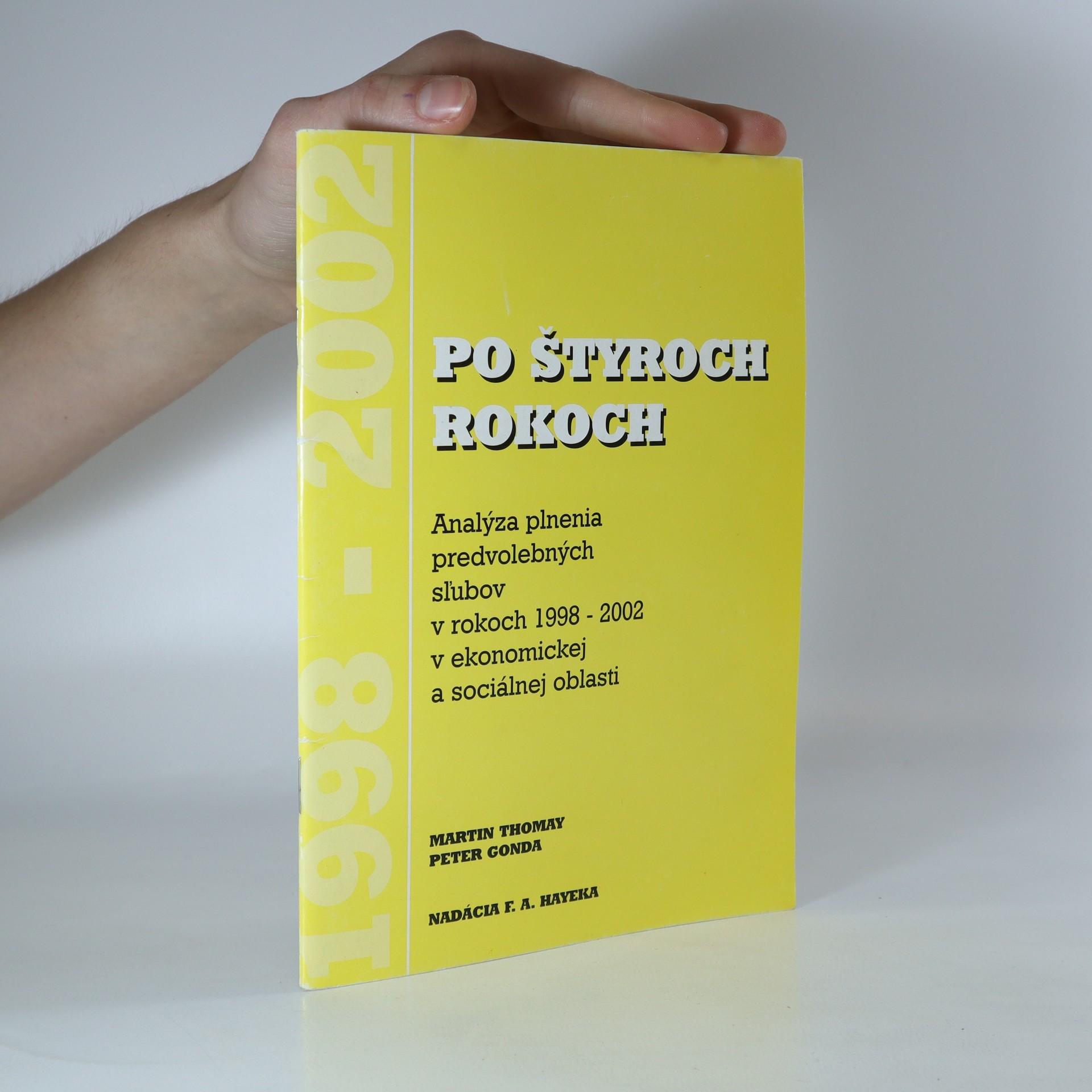 antikvární kniha Po štyroch rokoch, 2002