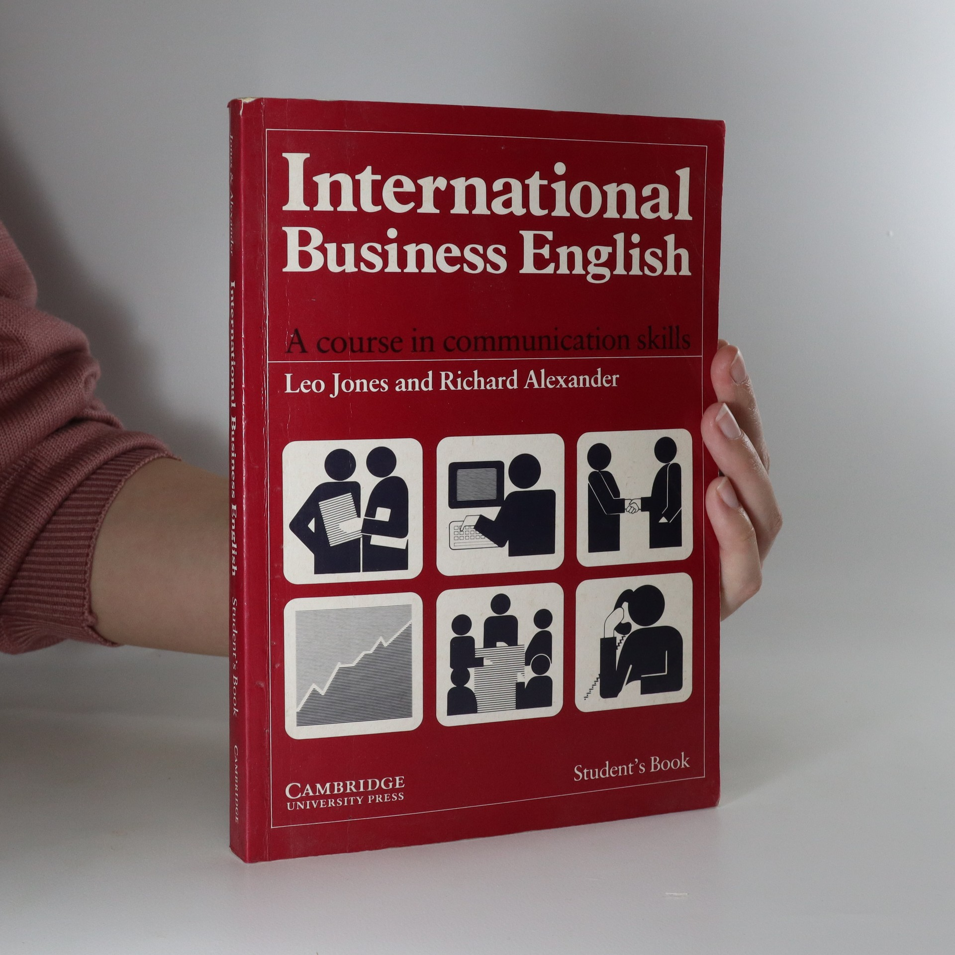 antikvární kniha International business english : communication skills in english for business purposes. Student's book, 1993