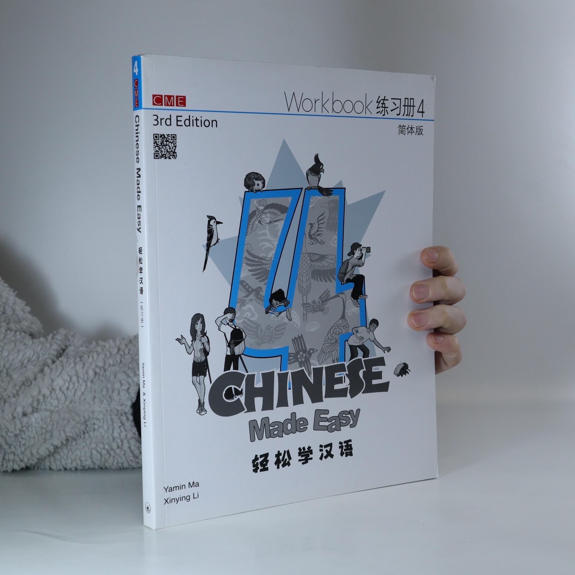 antikvární kniha Chinese Made Easy 4, 2017