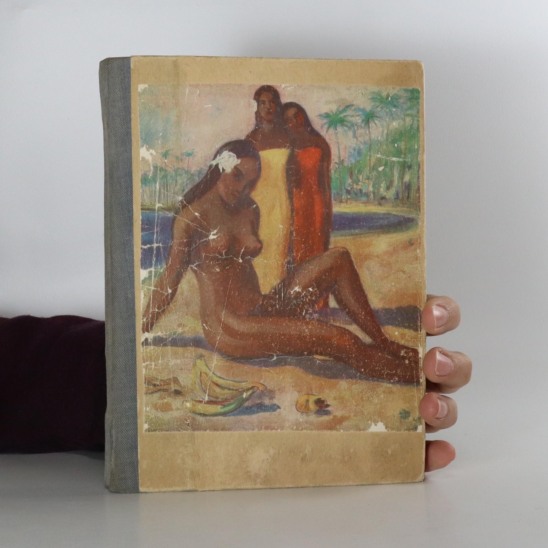 antikvární kniha Povídky z Tahiti, 1947