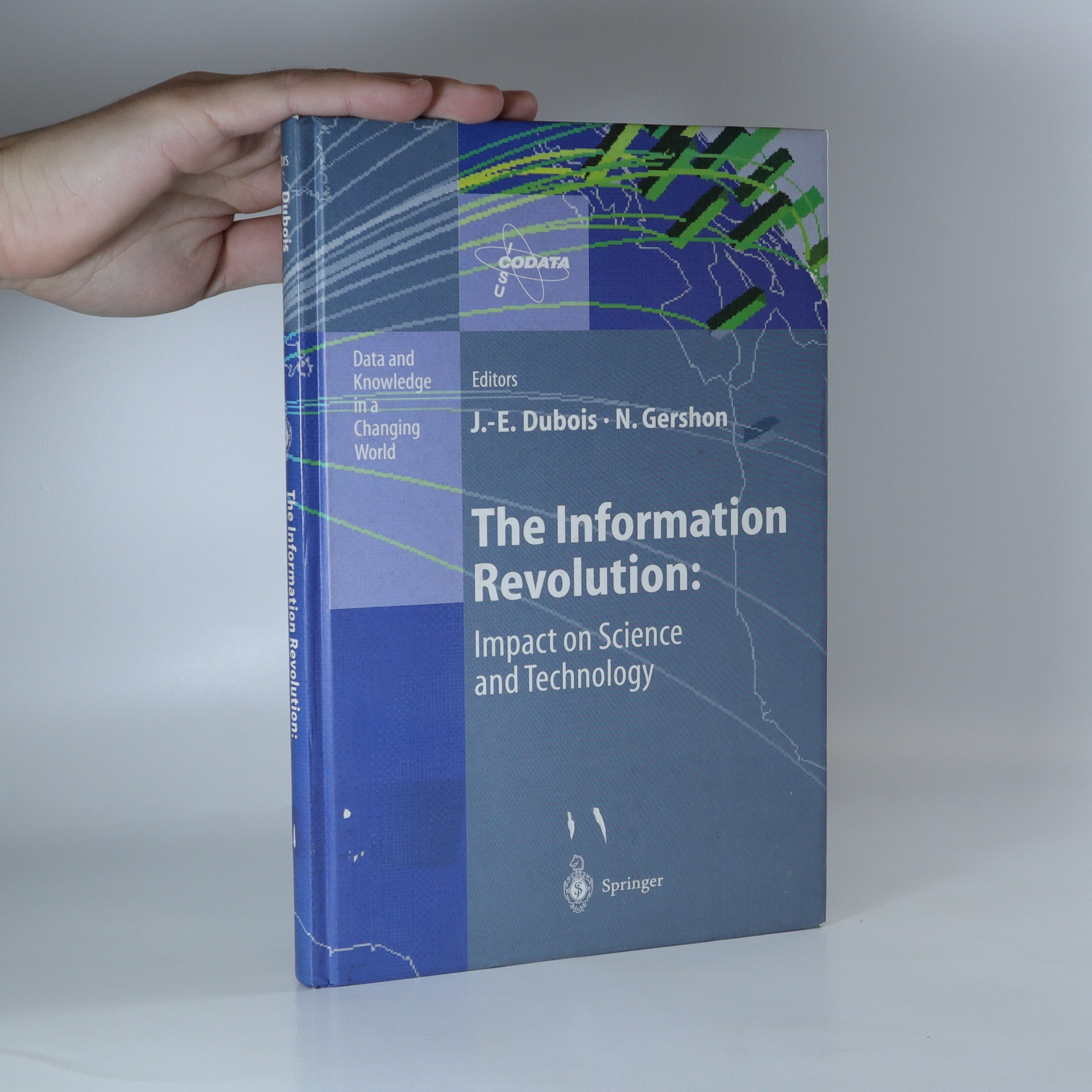 antikvární kniha The information revolution. Impact on science and technology, neuveden