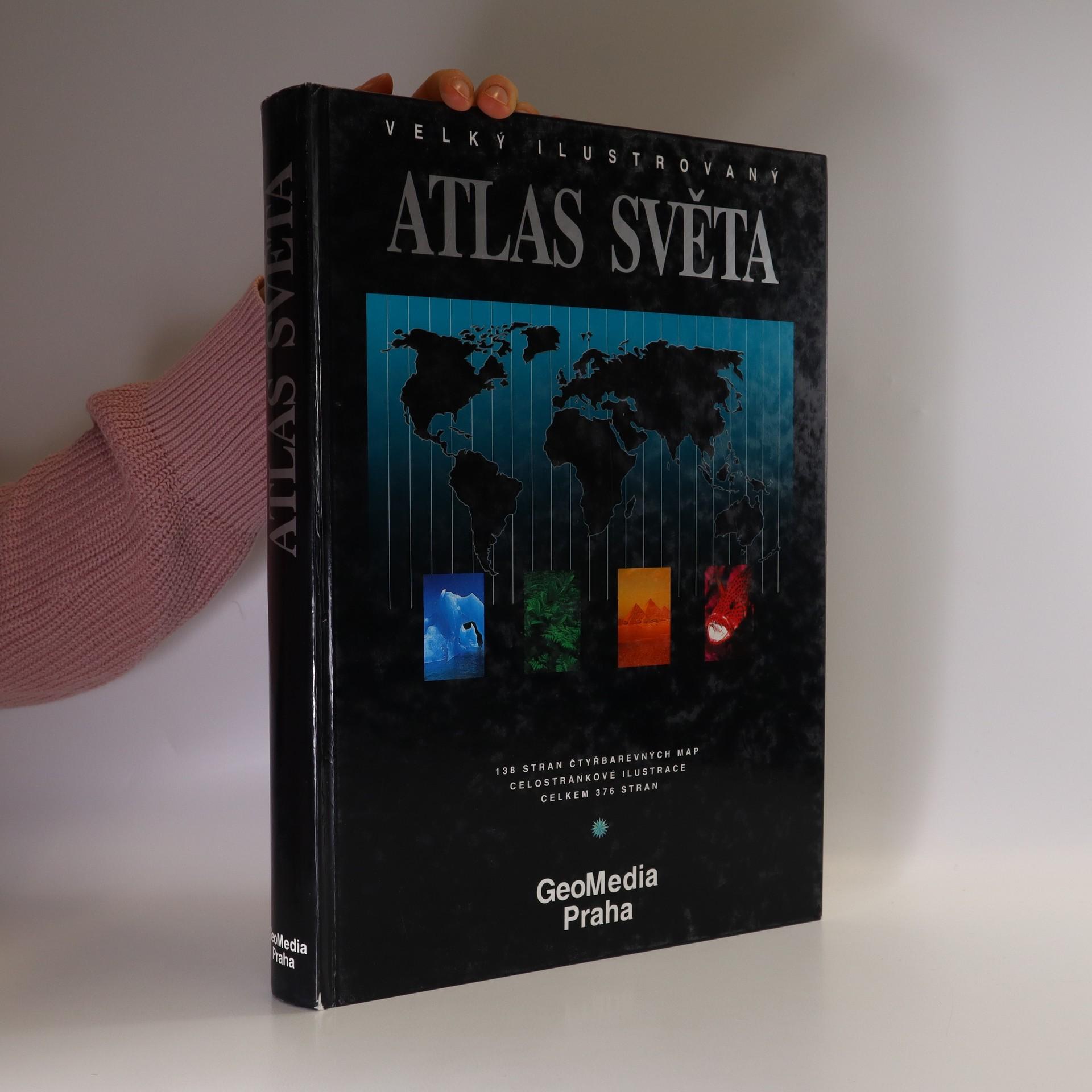 antikvární kniha Velký ilustrovaný atlas světa, 1997