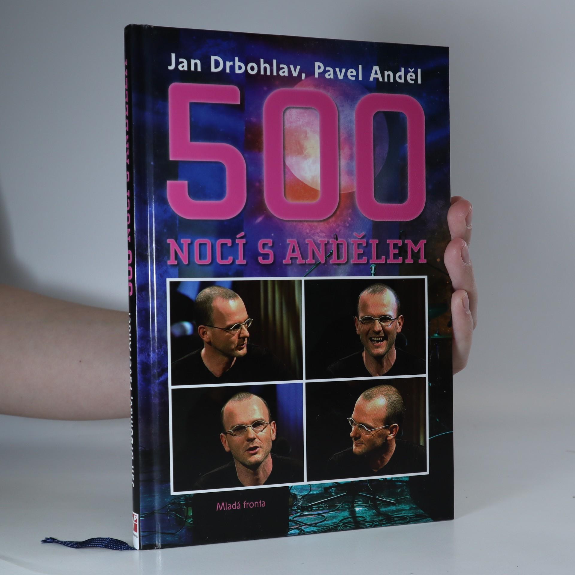 antikvární kniha 500 nocí s Andělem, 2009