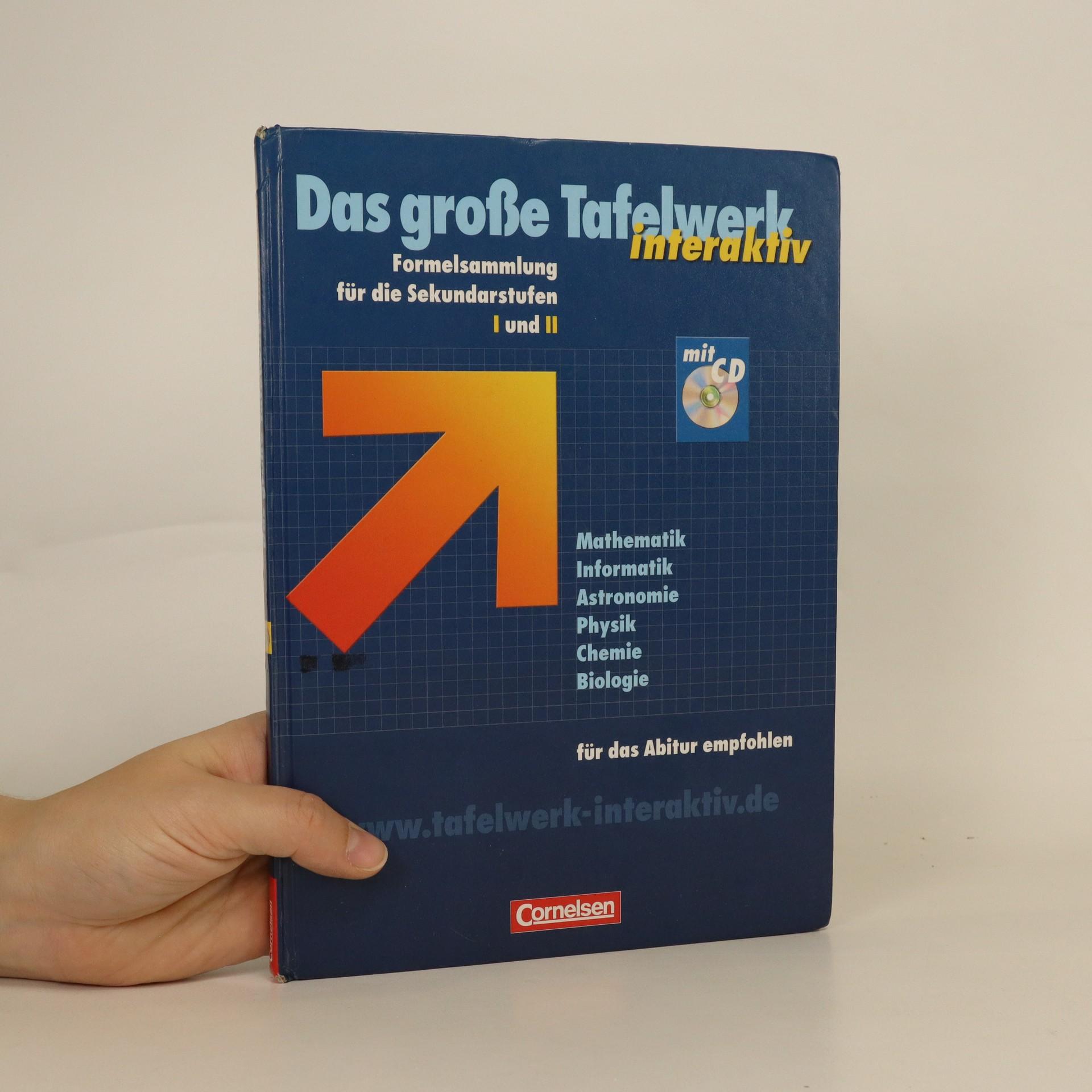 antikvární kniha Das große Tafelwerk interaktiv., 2011