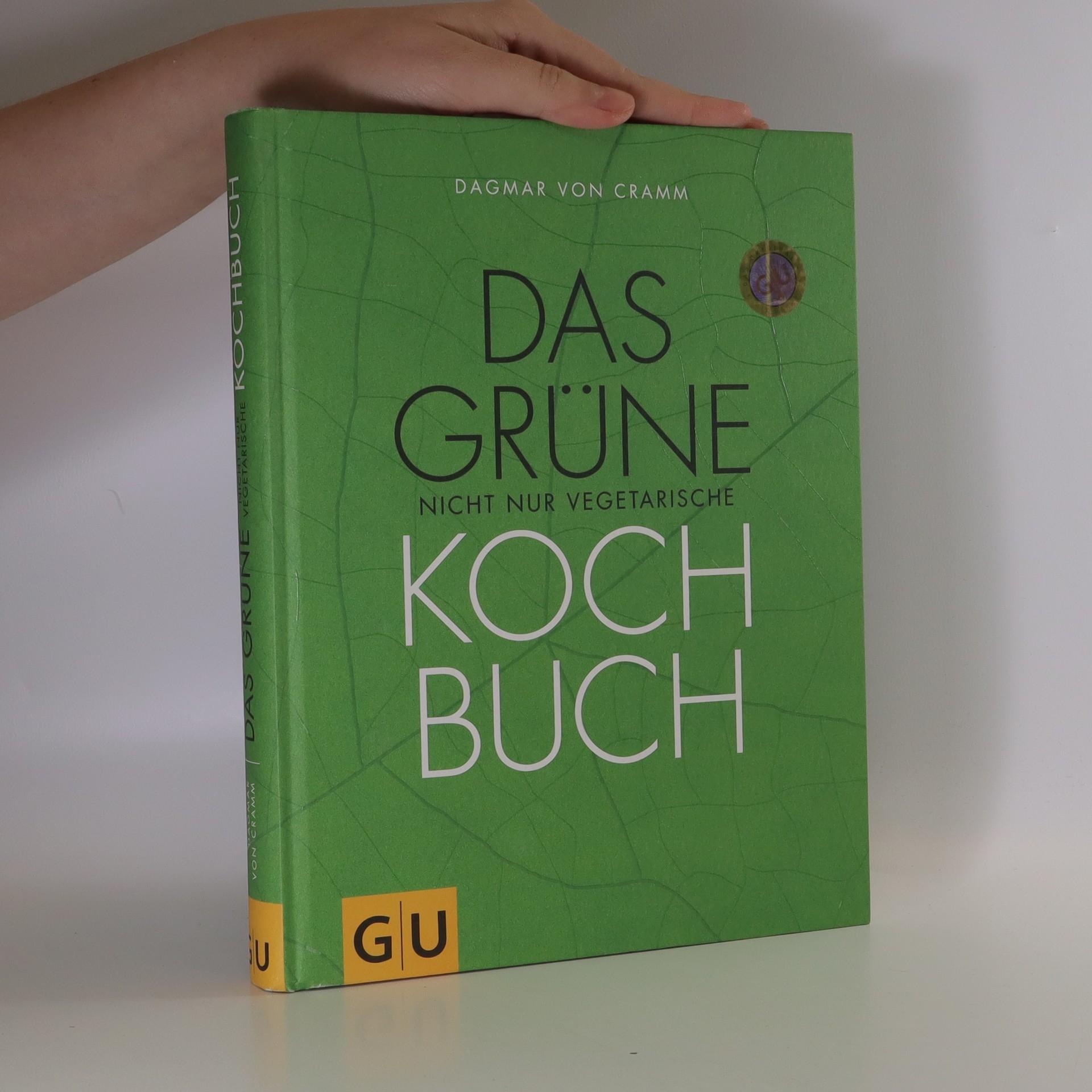 antikvární kniha Das grüne nicht nur vegetarische Kochbuch, 2012