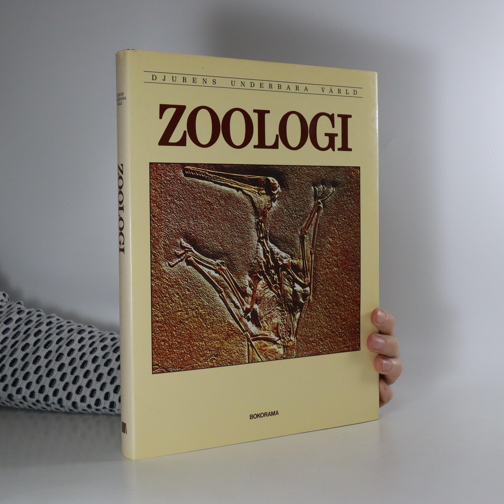 antikvární kniha Zoologi, 1984