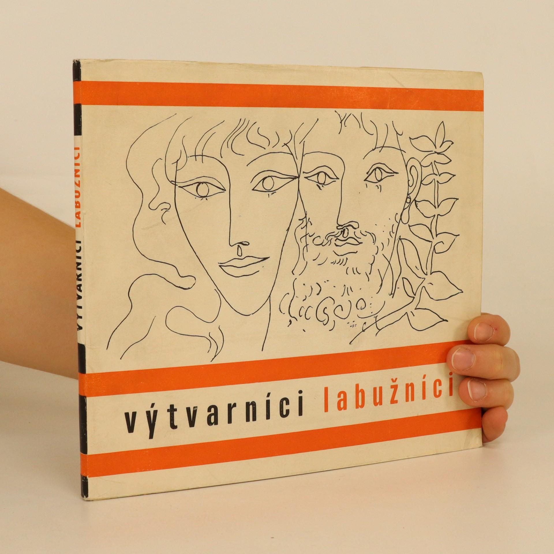 antikvární kniha Výtvarníci labužníci, 1971