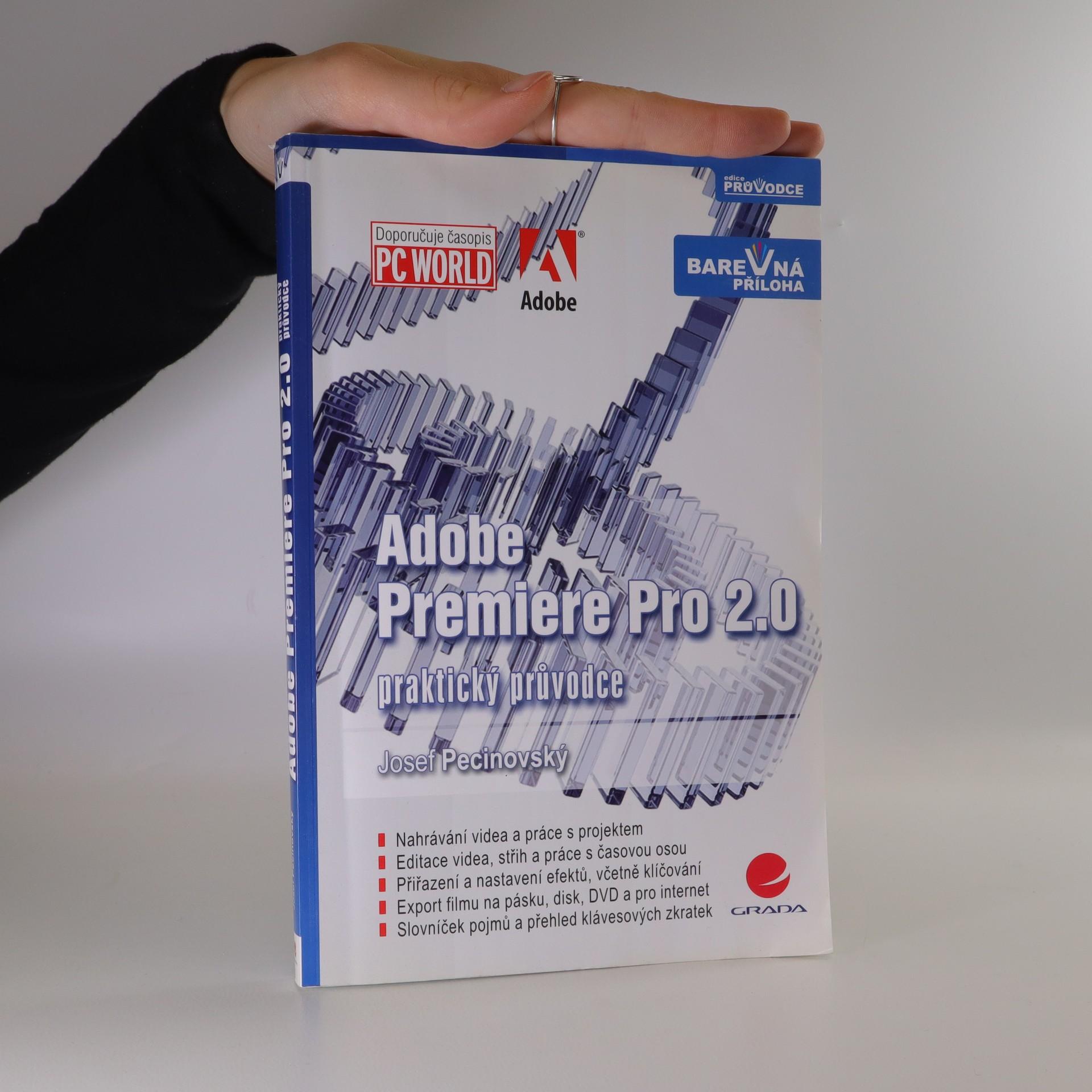 antikvární kniha Adobe Premiere Pro 2.0, 2006