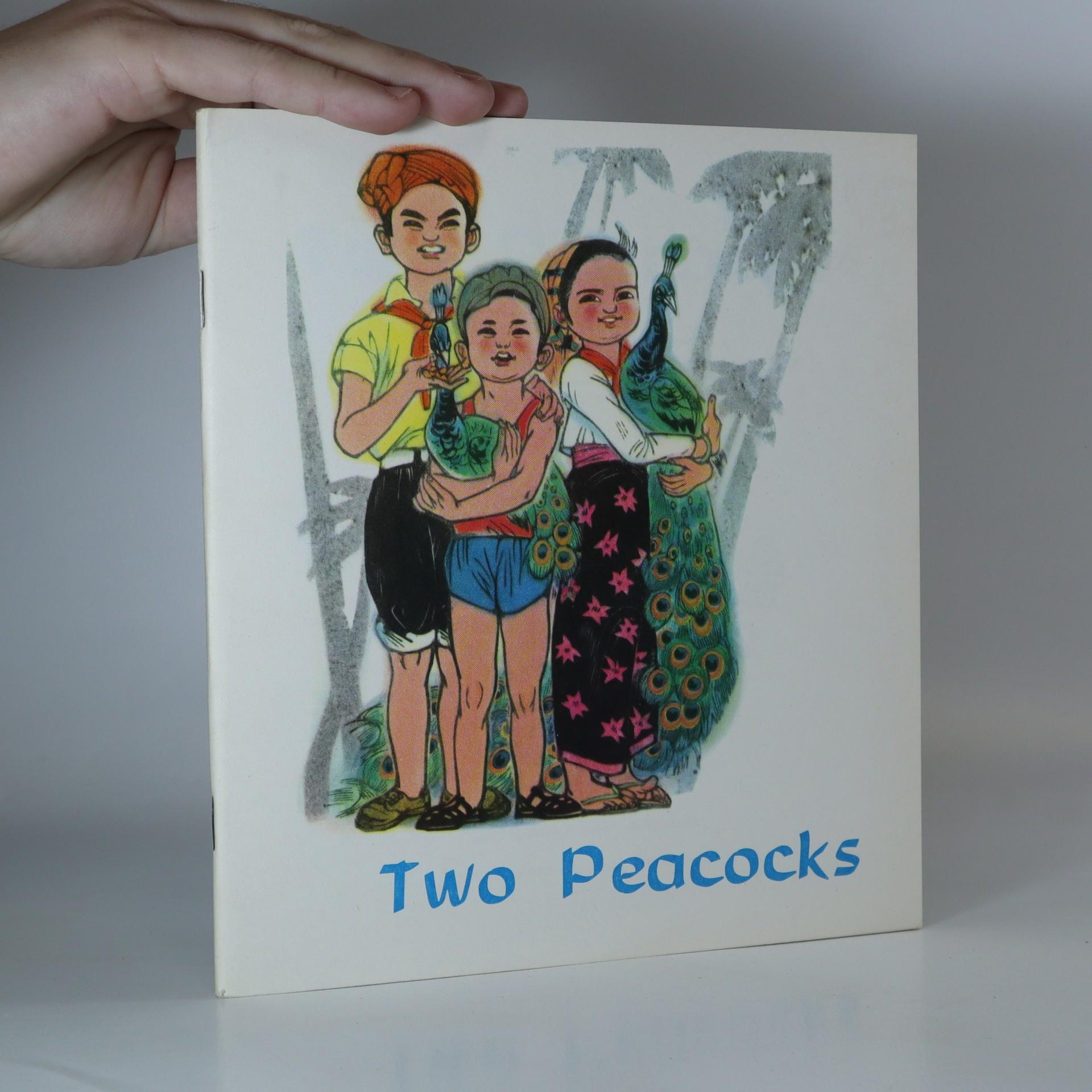 antikvární kniha Two peacocks, 1975