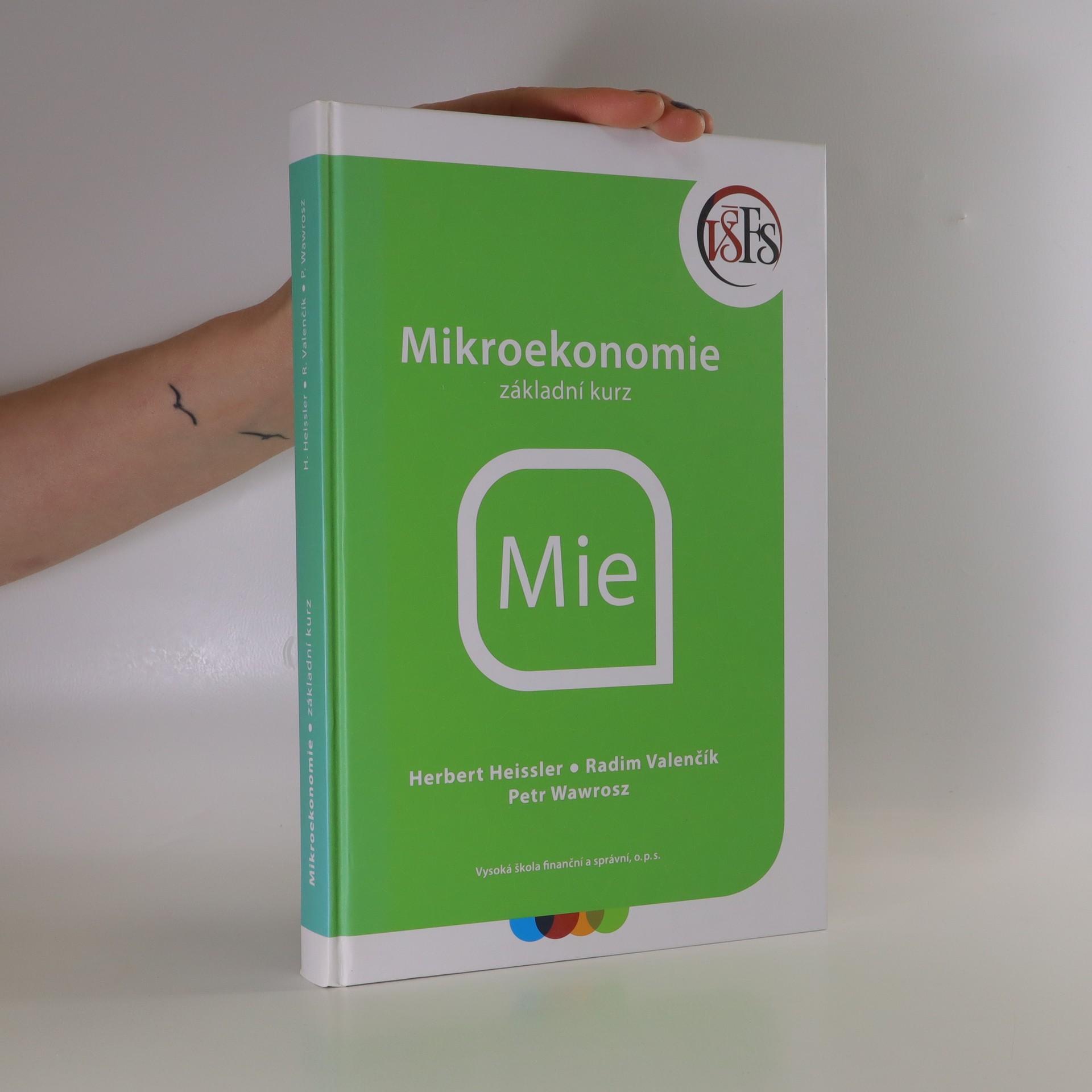 antikvární kniha Mikroekonomie , 2017