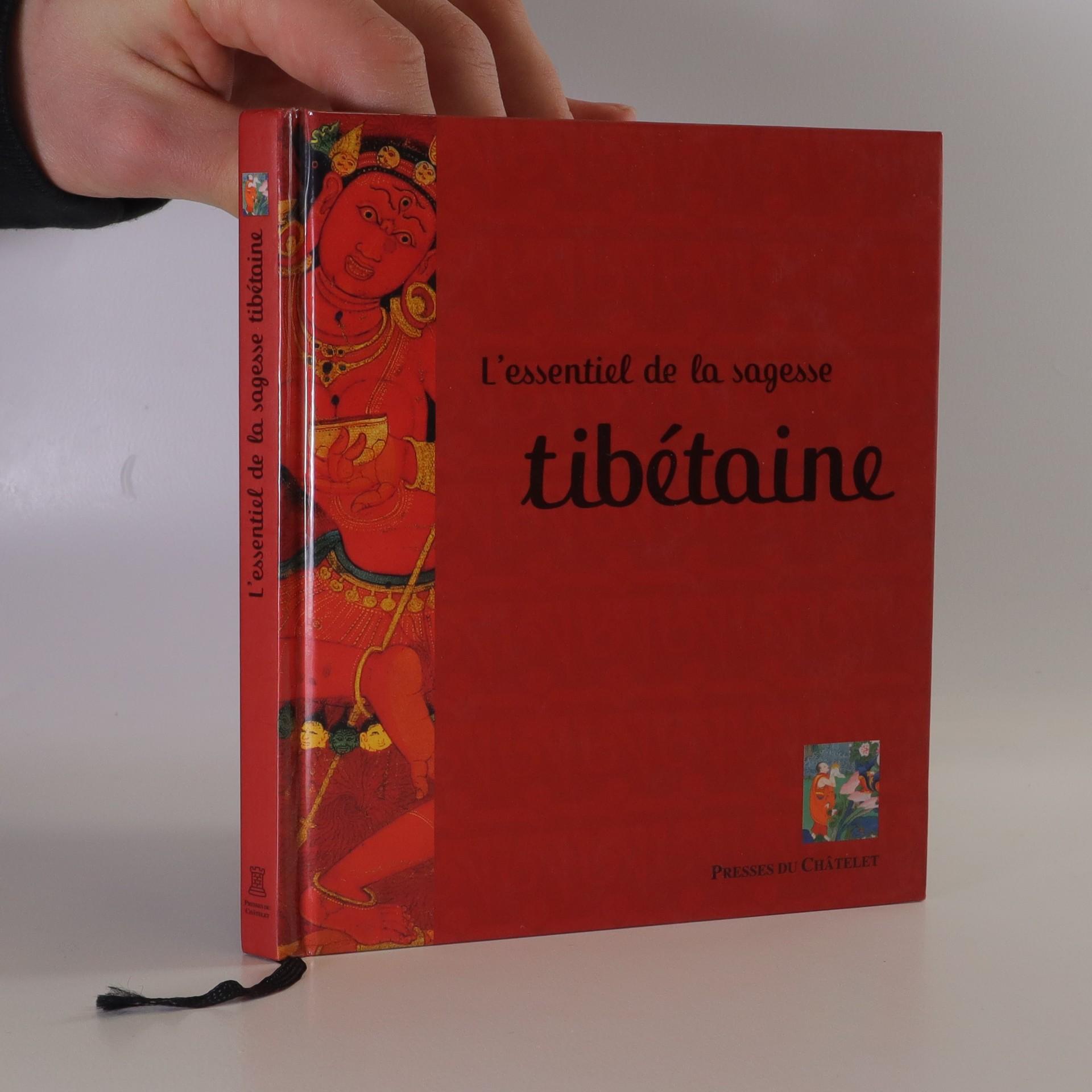 antikvární kniha L'essentiel de la sagesse tibétaine, 2006