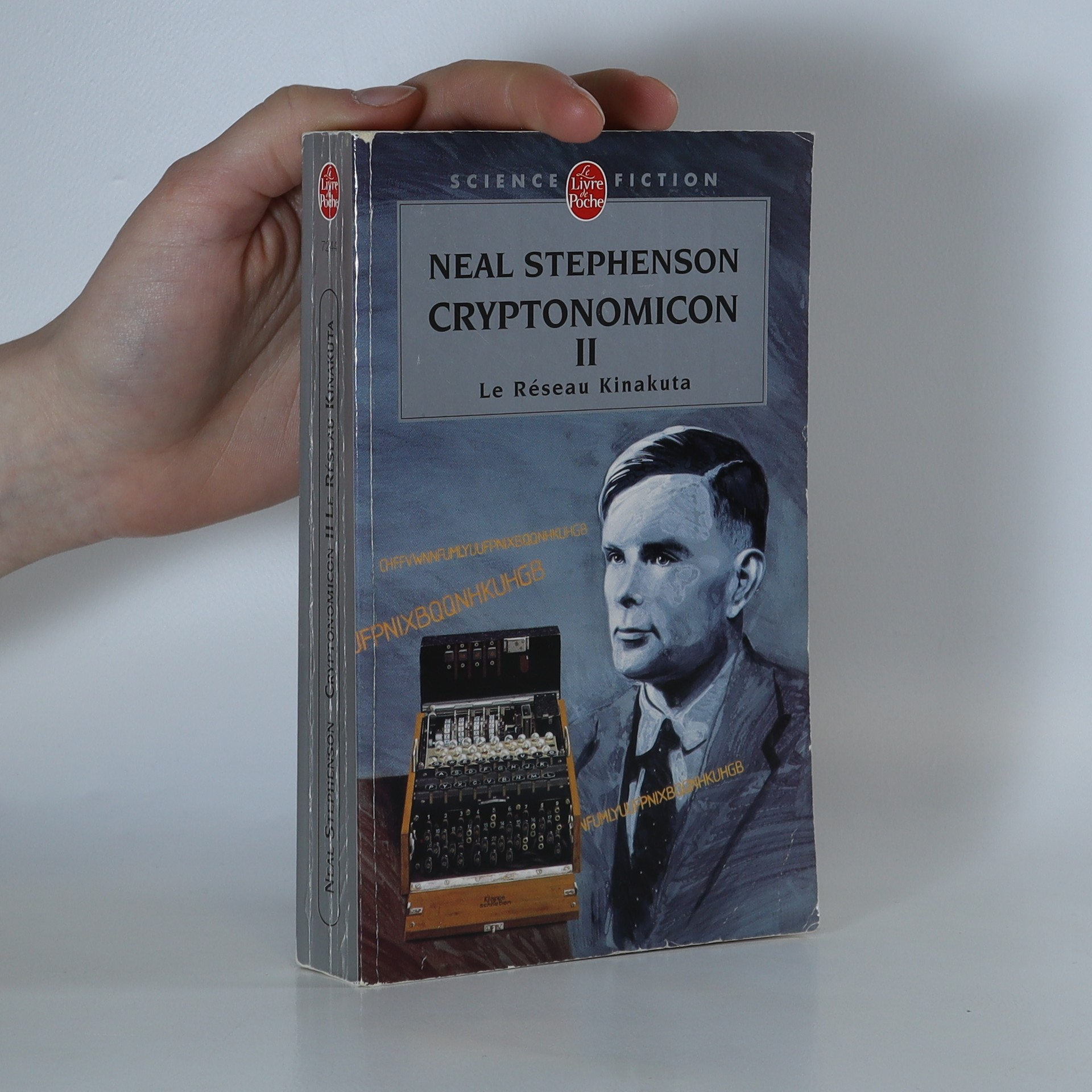 antikvární kniha Le Réseau Kinakuta. Cryptonomicon II, 2005