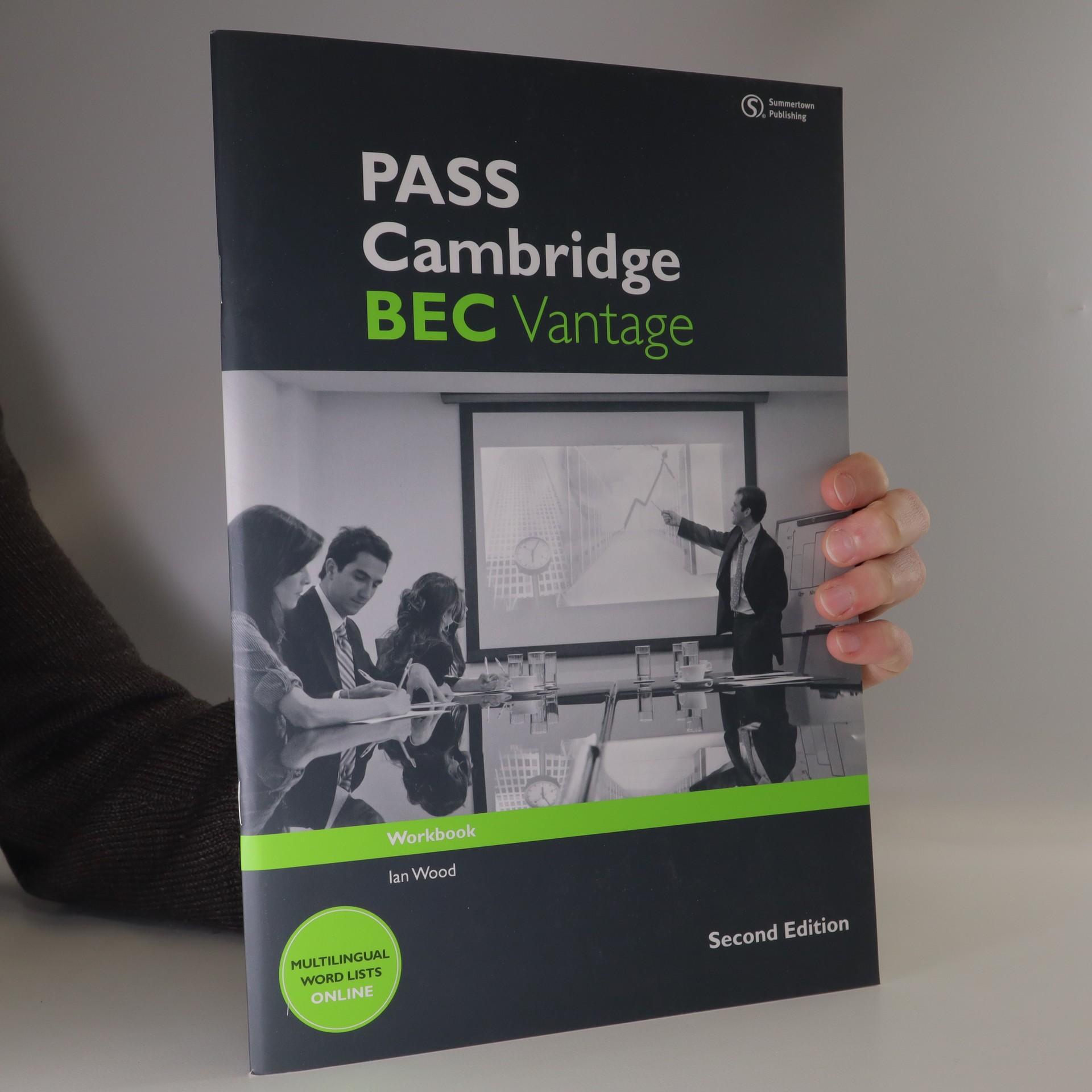 antikvární kniha Pass Cambridge BEC vantage, neuveden